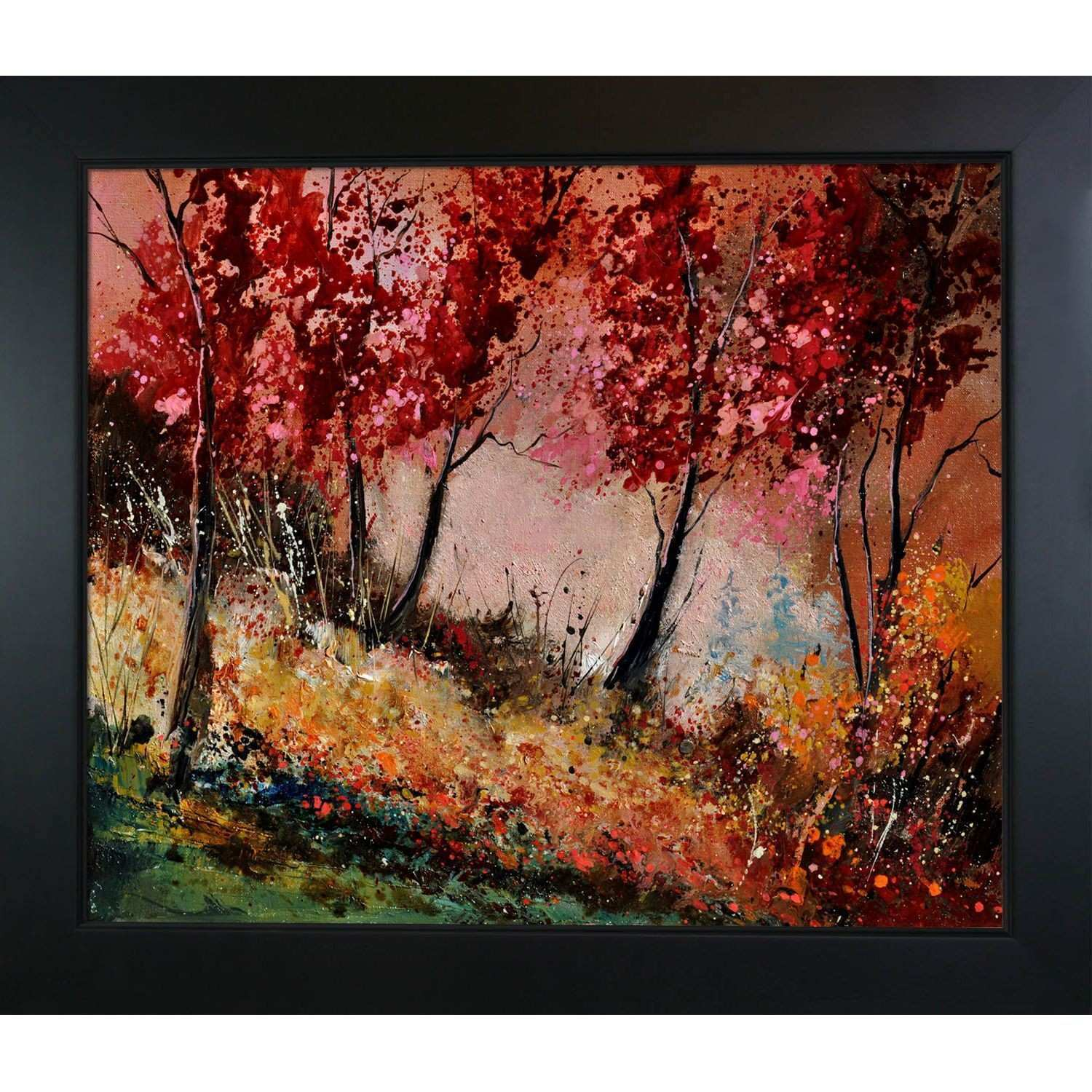 Wood Frame for Canvas Painting Awesome Pol Ledent In the Wood Framed
