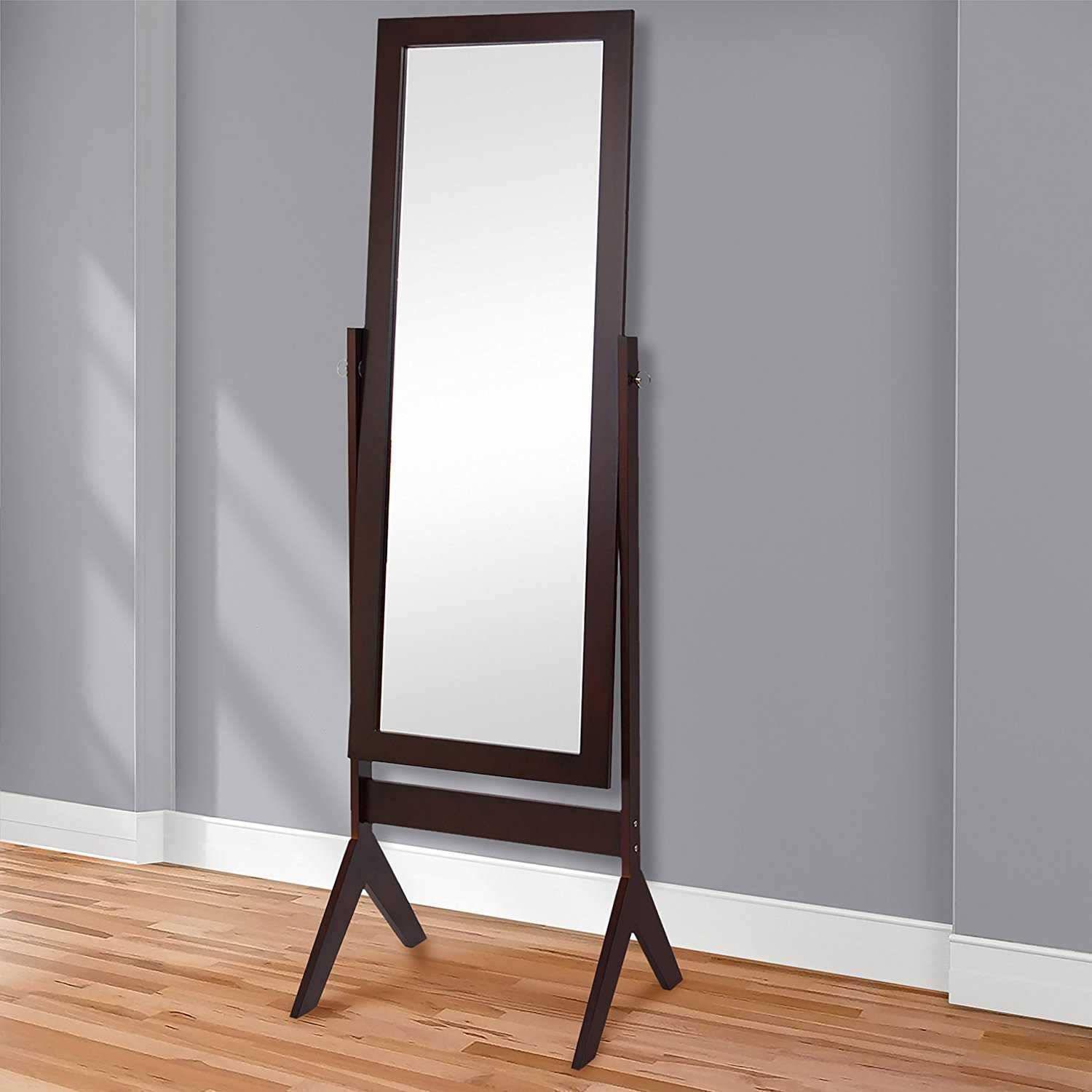 Floor Standing Mirror Beautiful Standing Long Mirrors Bedroom Sign Frame Pantry 2018 Also