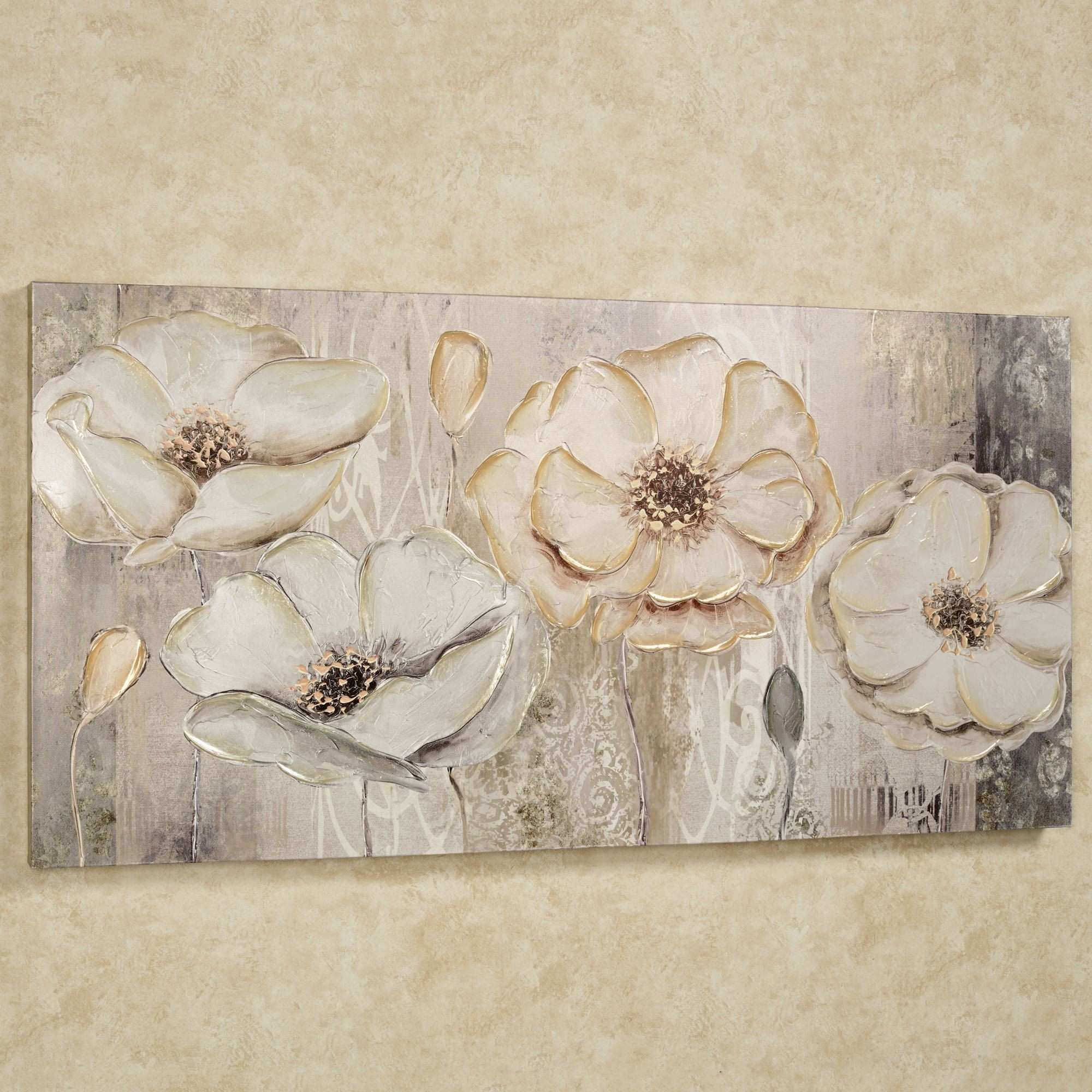 Image Gallery of Floral Wall Art Canvas View 15 of 15 s