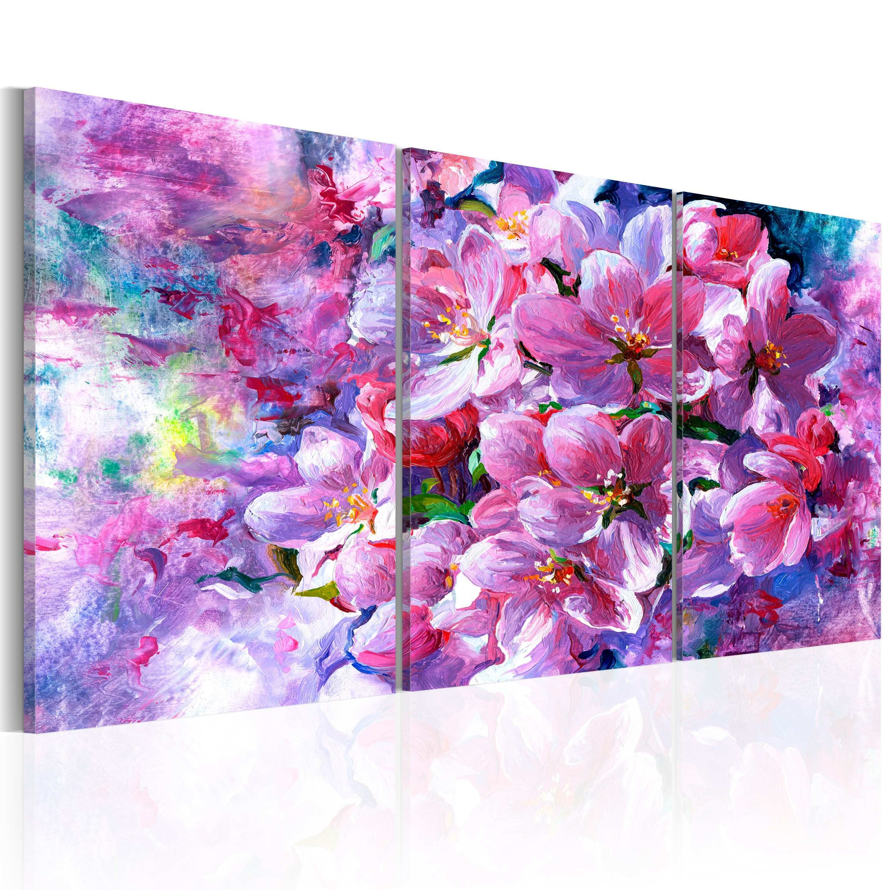 Canvas Print Lilac Flowers Other Flowers Flowers Canvas Prints
