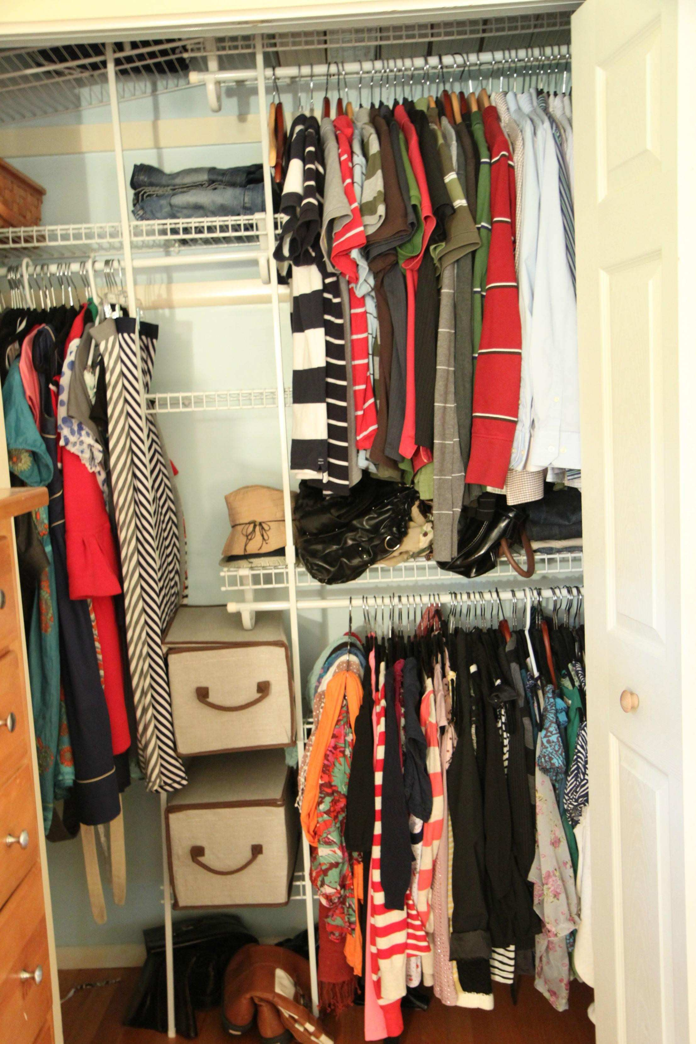 Hanging Storage Shelves for Closet How to Maximize Storage Space In