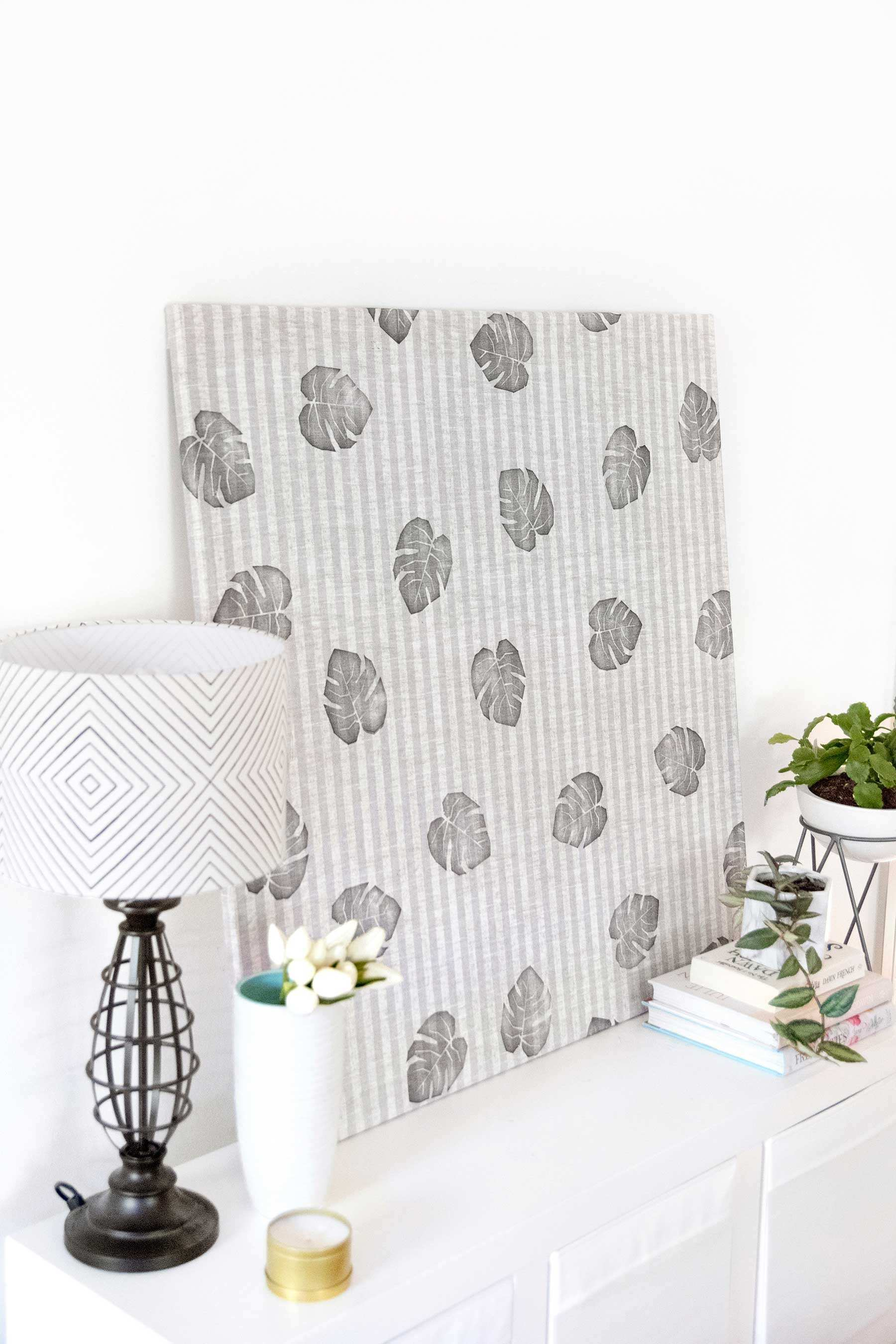 Interesting Diy Fabric Wall Art Best Picture Interior