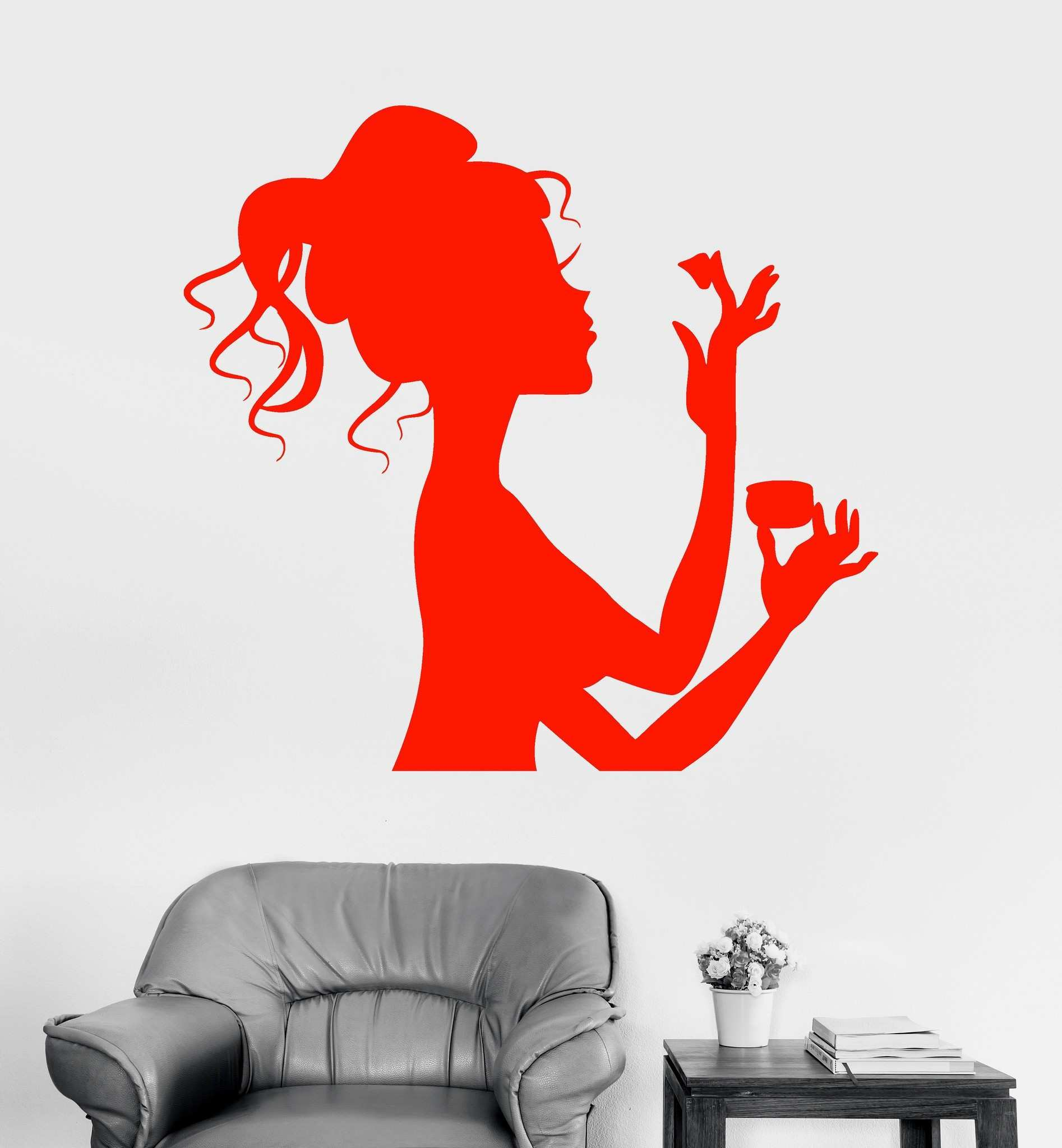 38 Luxury Feather Wall Decals