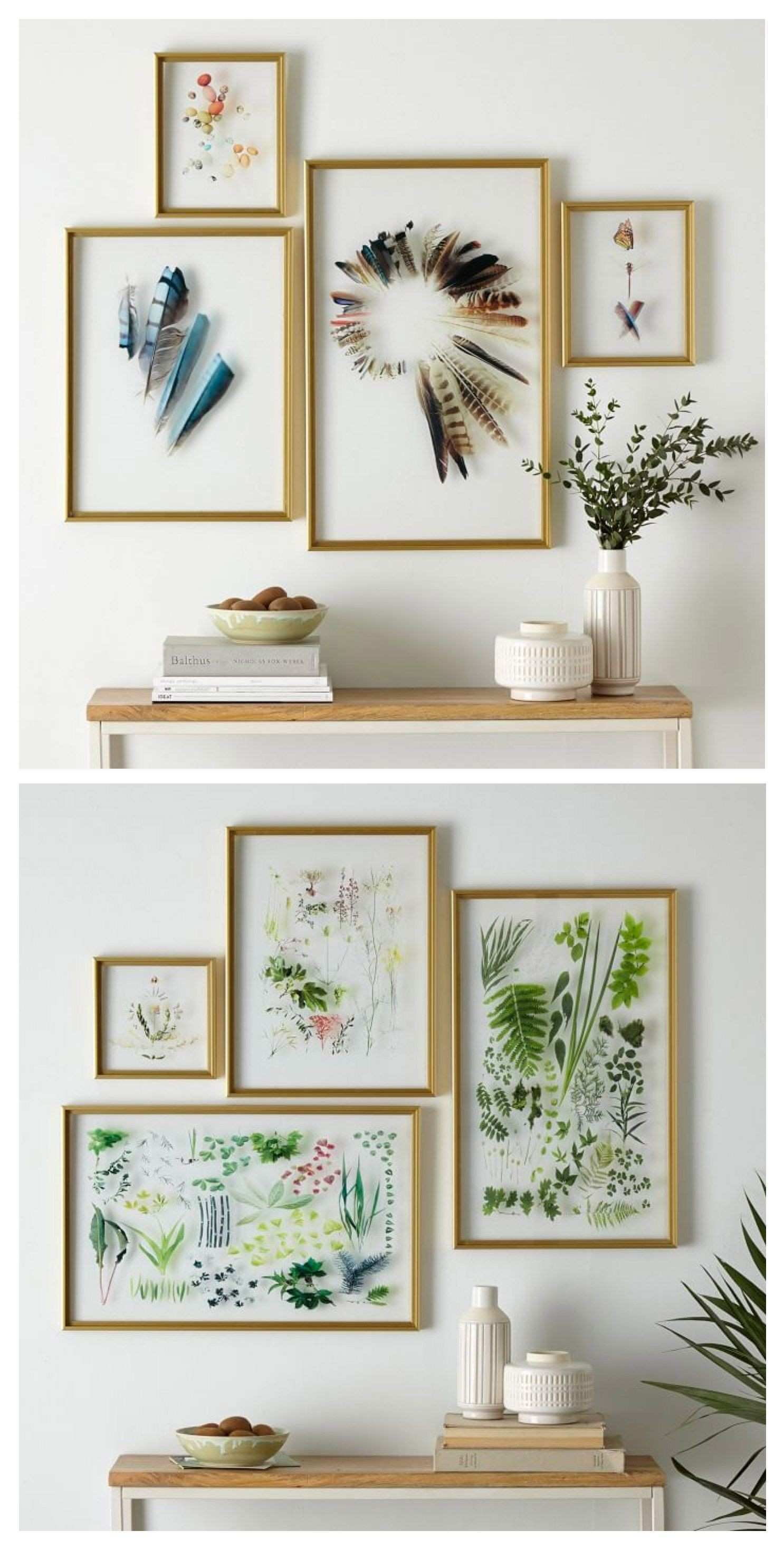 A collection of acrylic wall hangings using my STILL images was