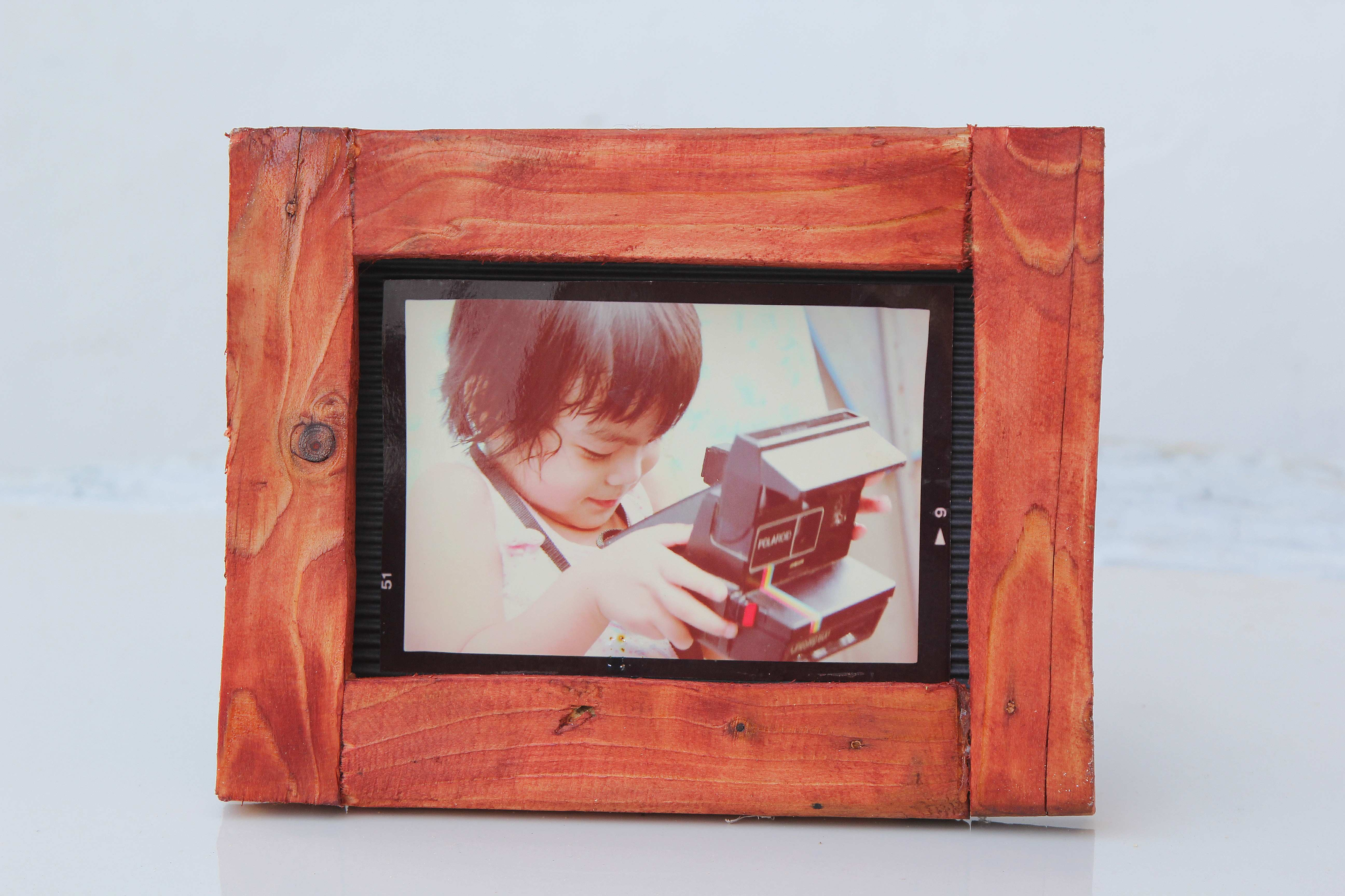 How to Build a Picture Frame from Recycled Wood 13 Steps