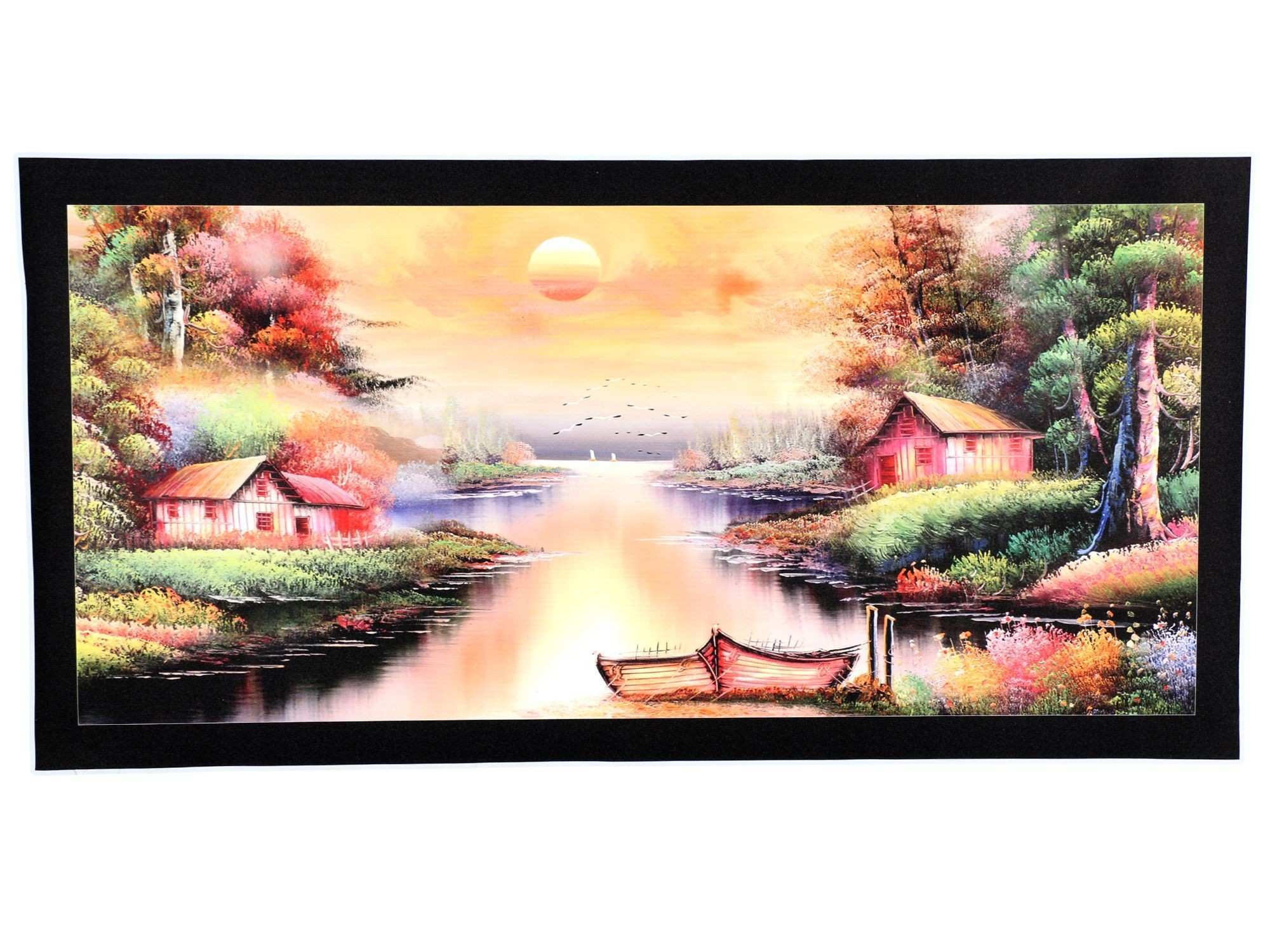 BM Traders Beautiful Painting Sticker Poster Vinyl Wall Poster