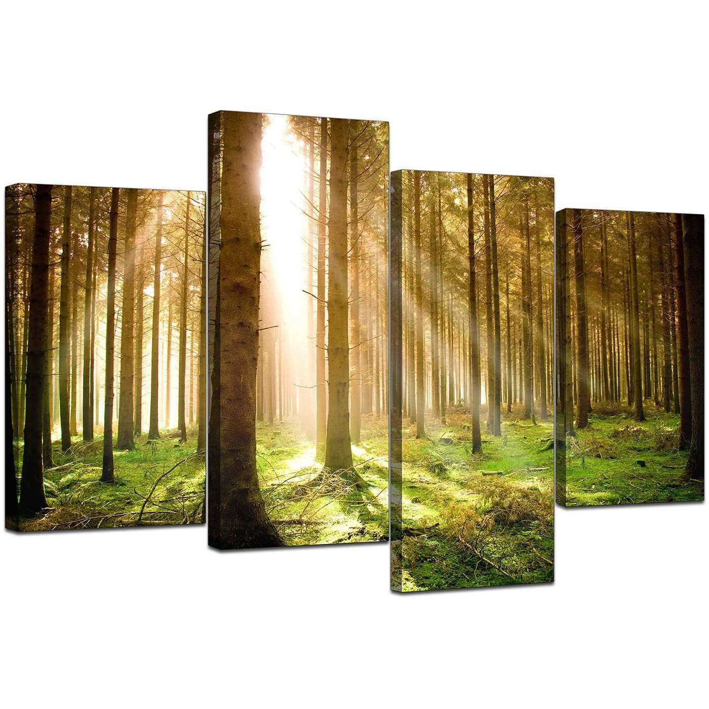 Unique 6 Piece Canvas Wall Art Embellishment Wall Art Collections