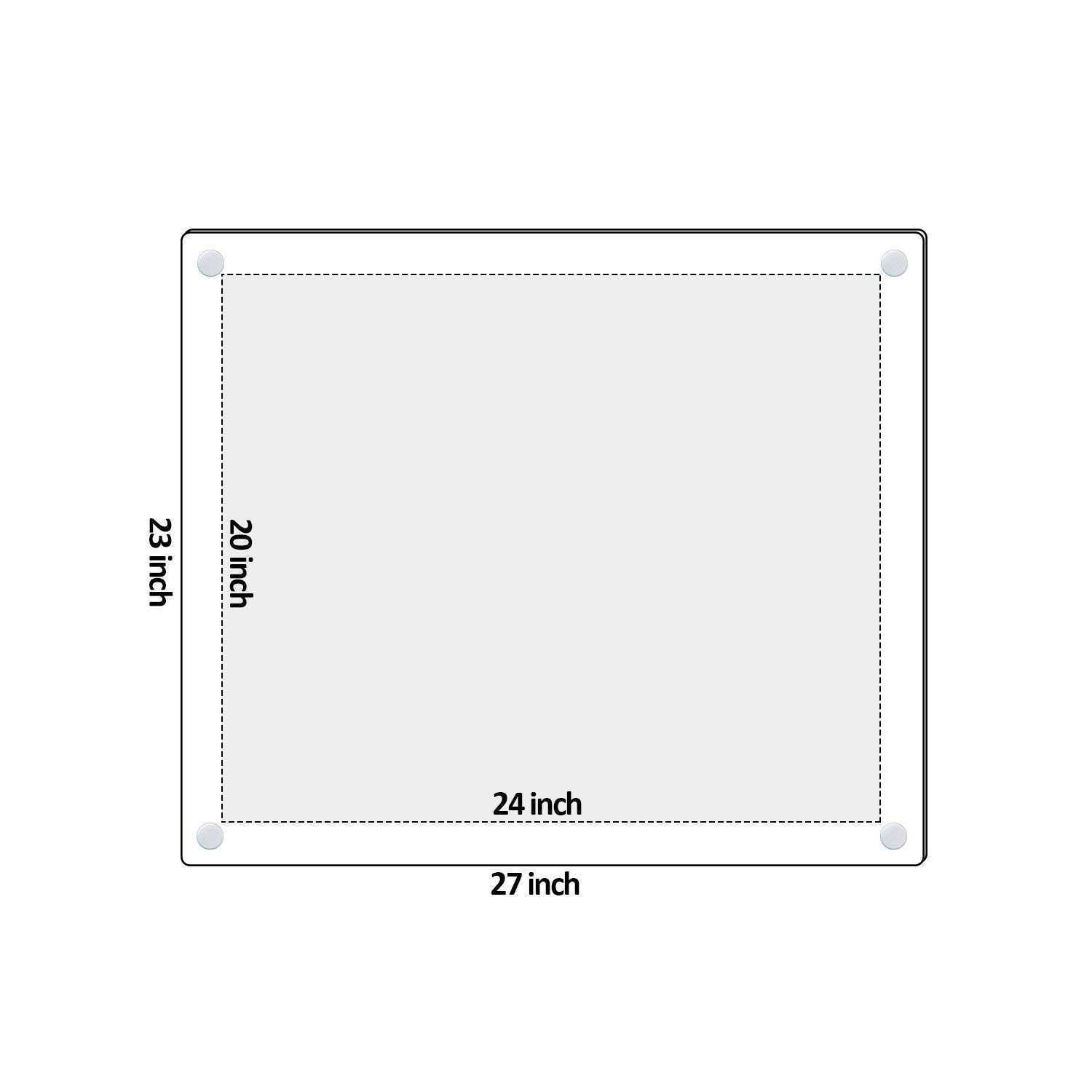 Frameless Wall Mounted Acrylic Picture Frames Awesome Amazon Niubee ...