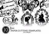 Free Printable Wall Art Black and White Unique Free Project – 10 Free Paper Cutting Templates Printable