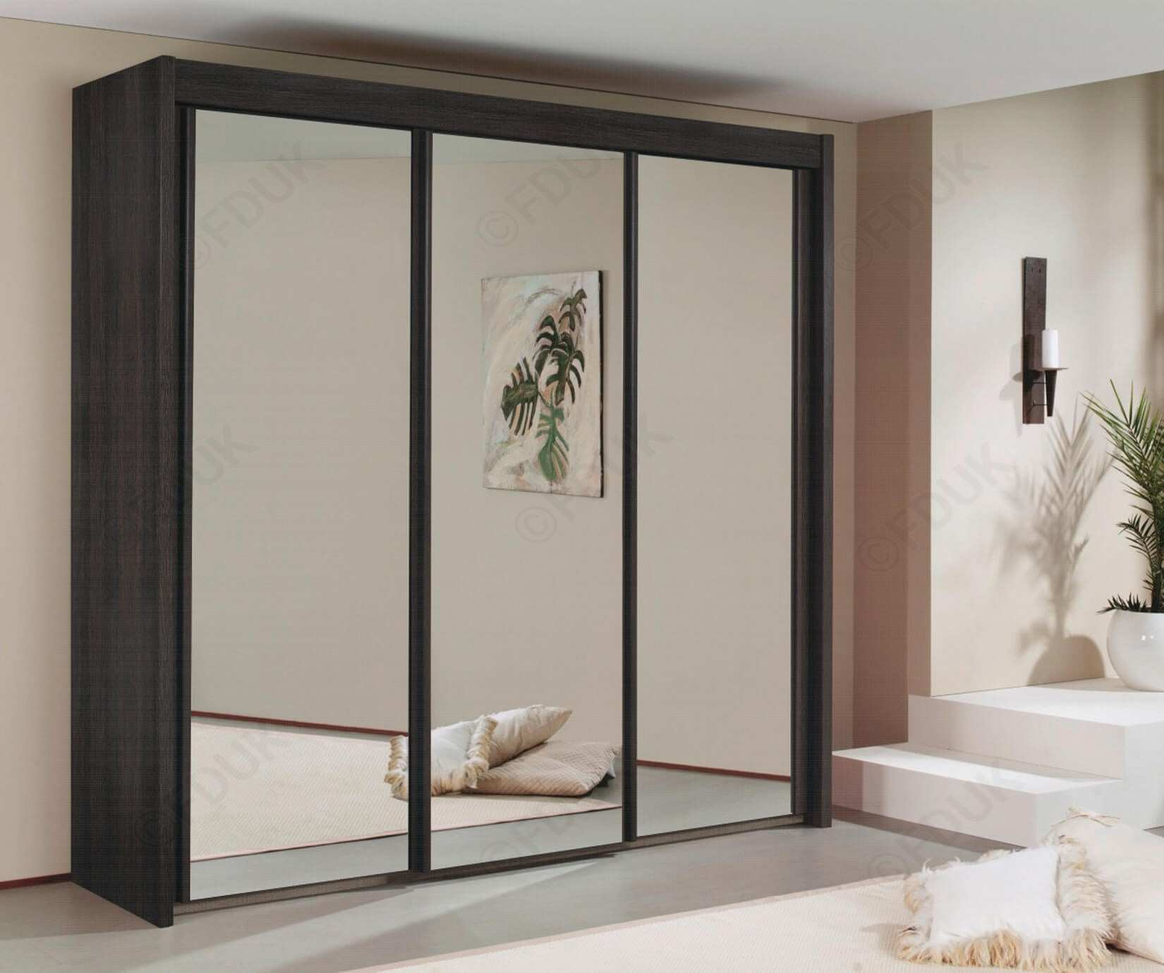 Romano Mirrored Wardrobe P2459 Imagey Buy Wardrobei 0d Uk