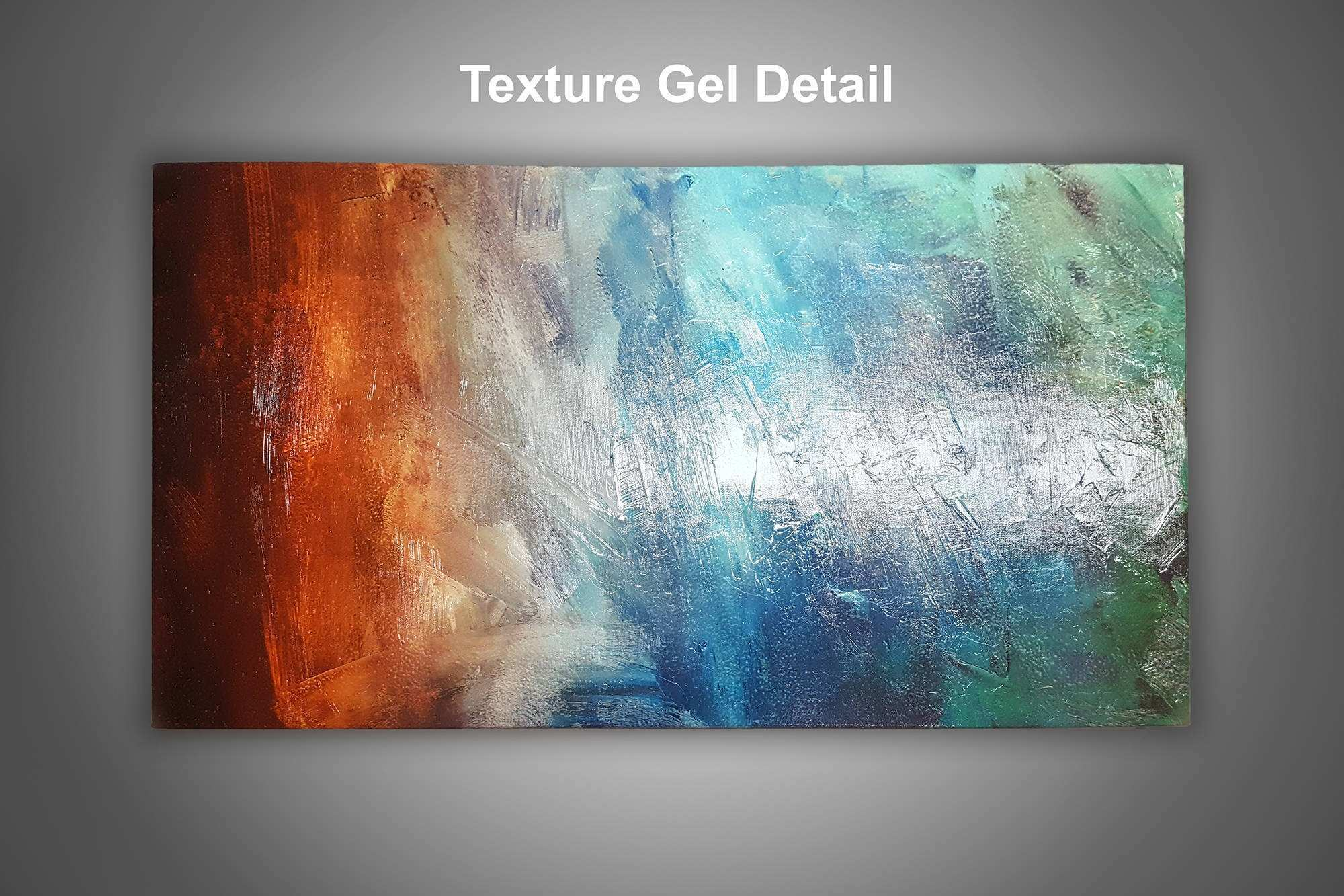 Abstract Painting Wall Art Canvas Print Panoramic Home Decor