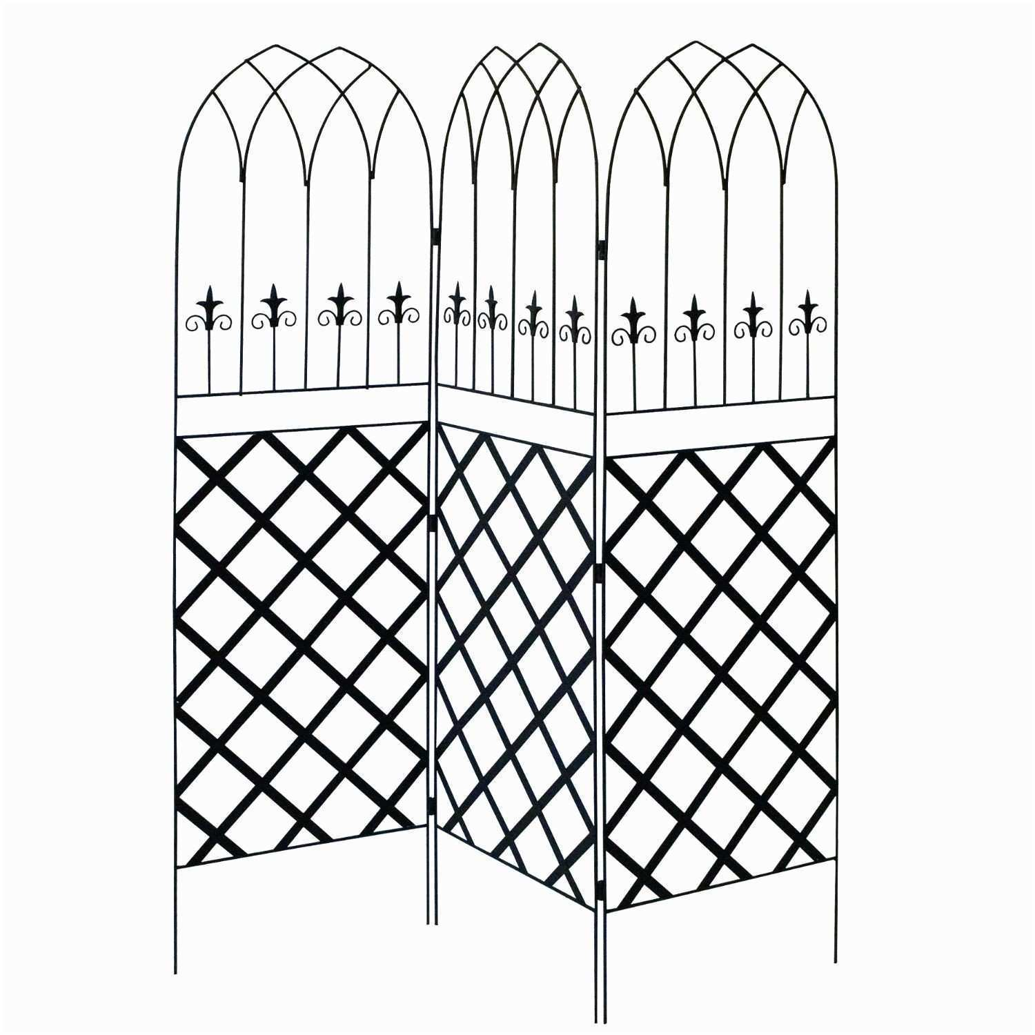 Home Design Metal Wall Trellis Lovely Funky Metal Arch Wall Decor