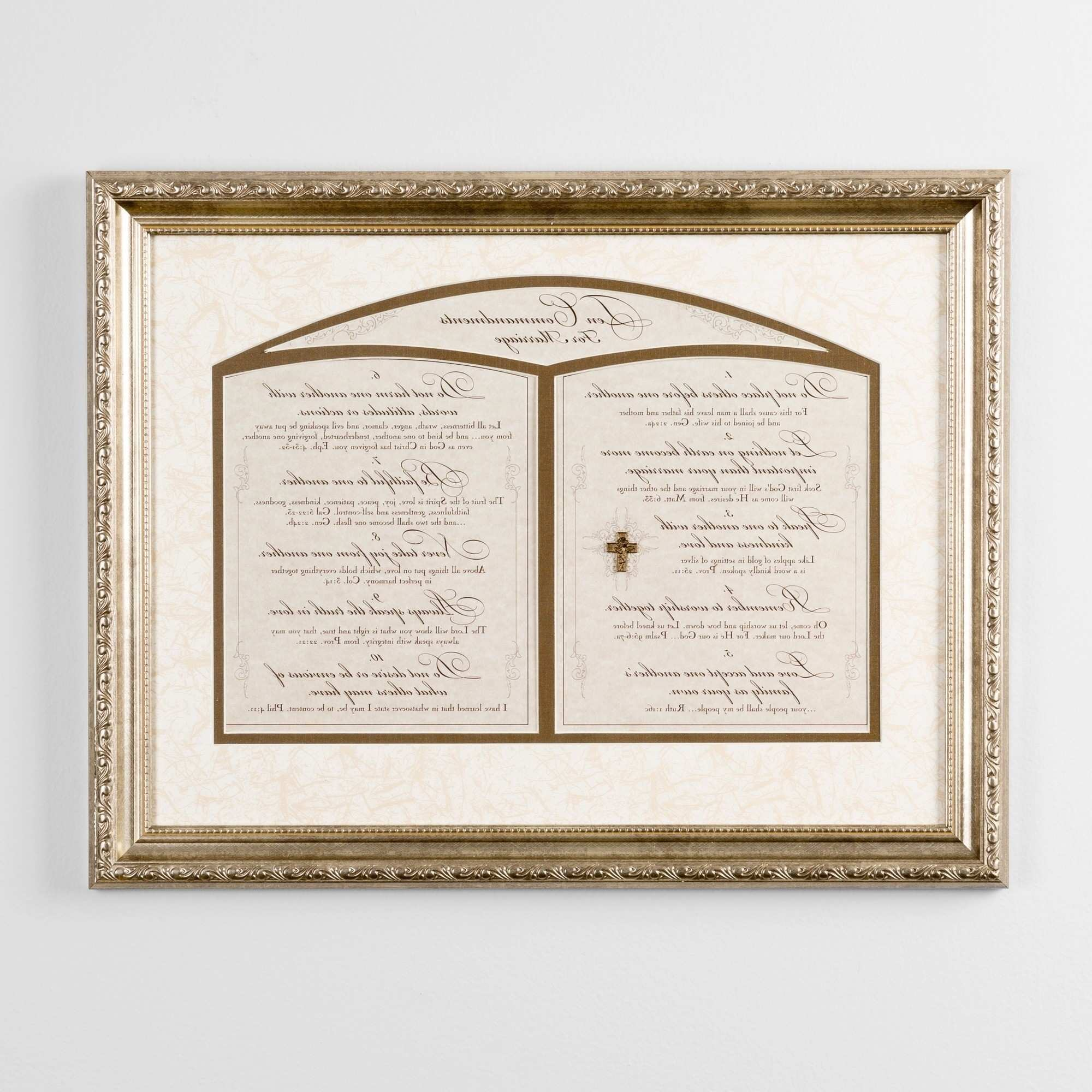 Image Gallery of 10 mandments Wall Art View 9 of 15 s
