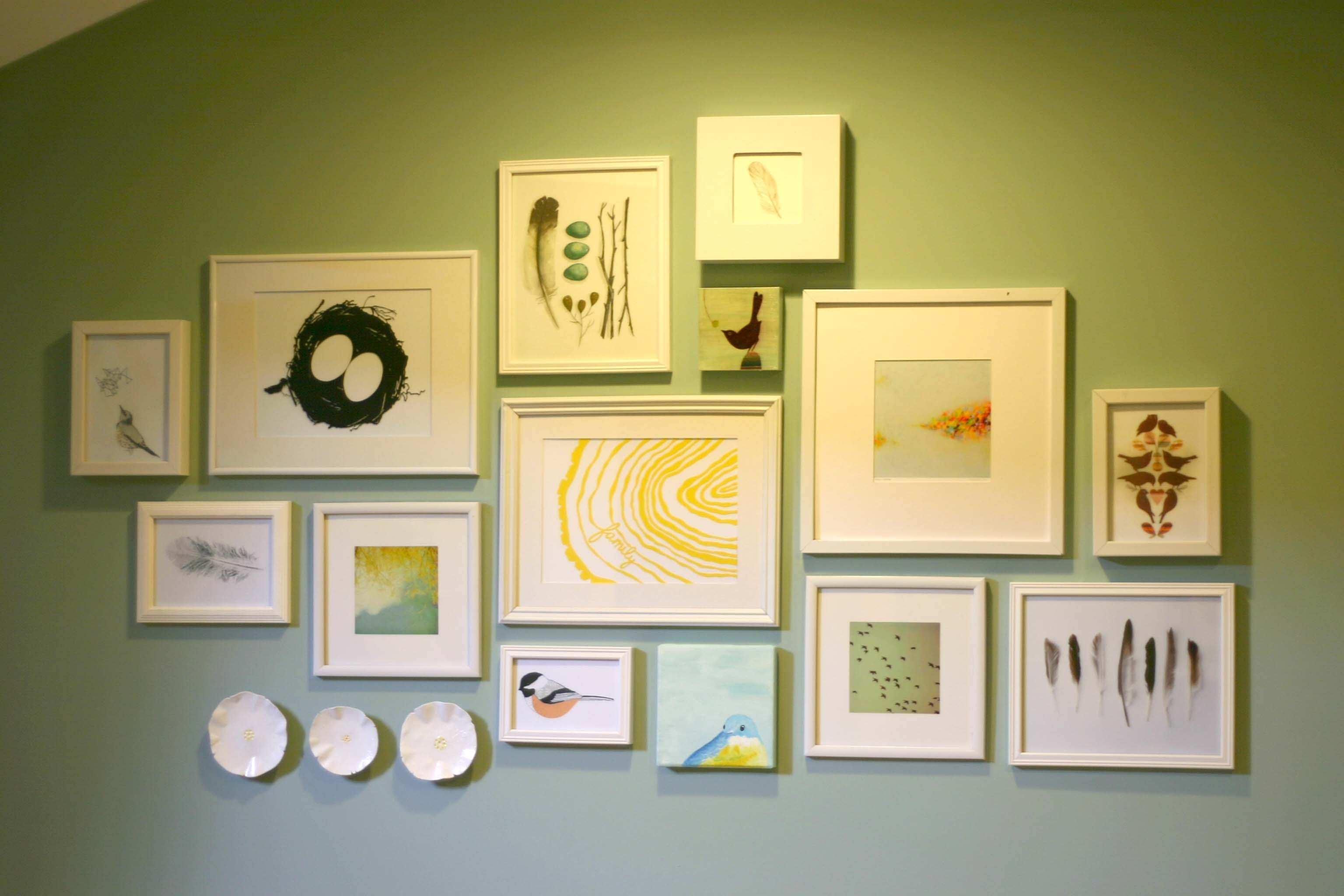 Awesome Wall Art Picture Frames Festooning The Wall Art