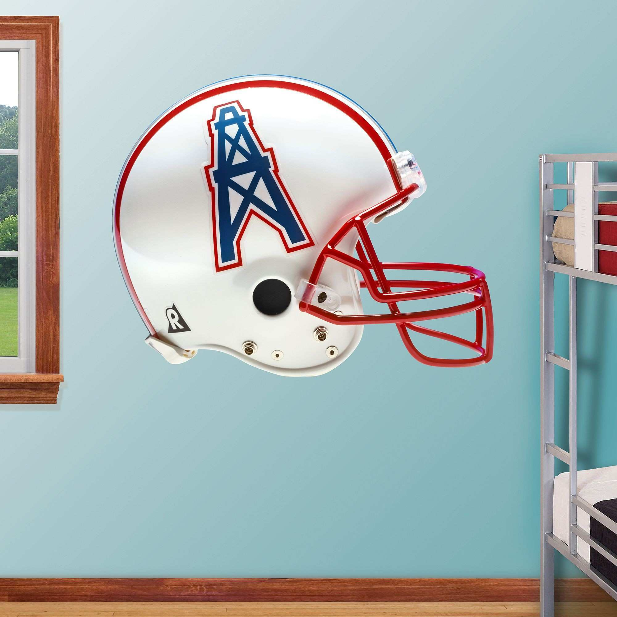 Gear Wall Decor Fresh Houston Oilers Throwback Helmet Real Big Fathead Wall Decal