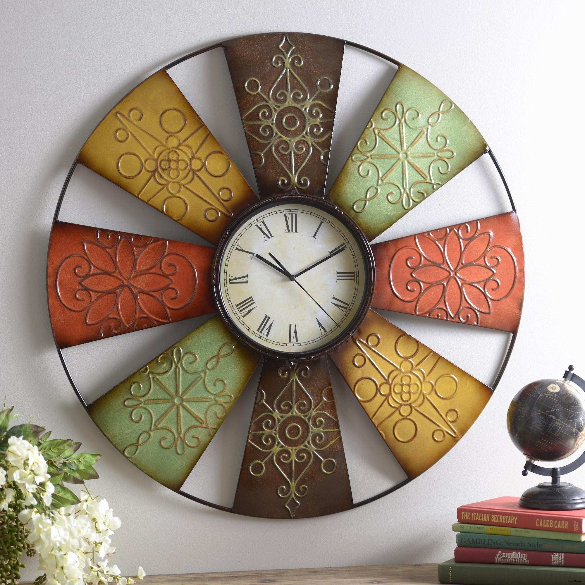 39 Awesome Gear Wall Clock Design Gear Wall Decor