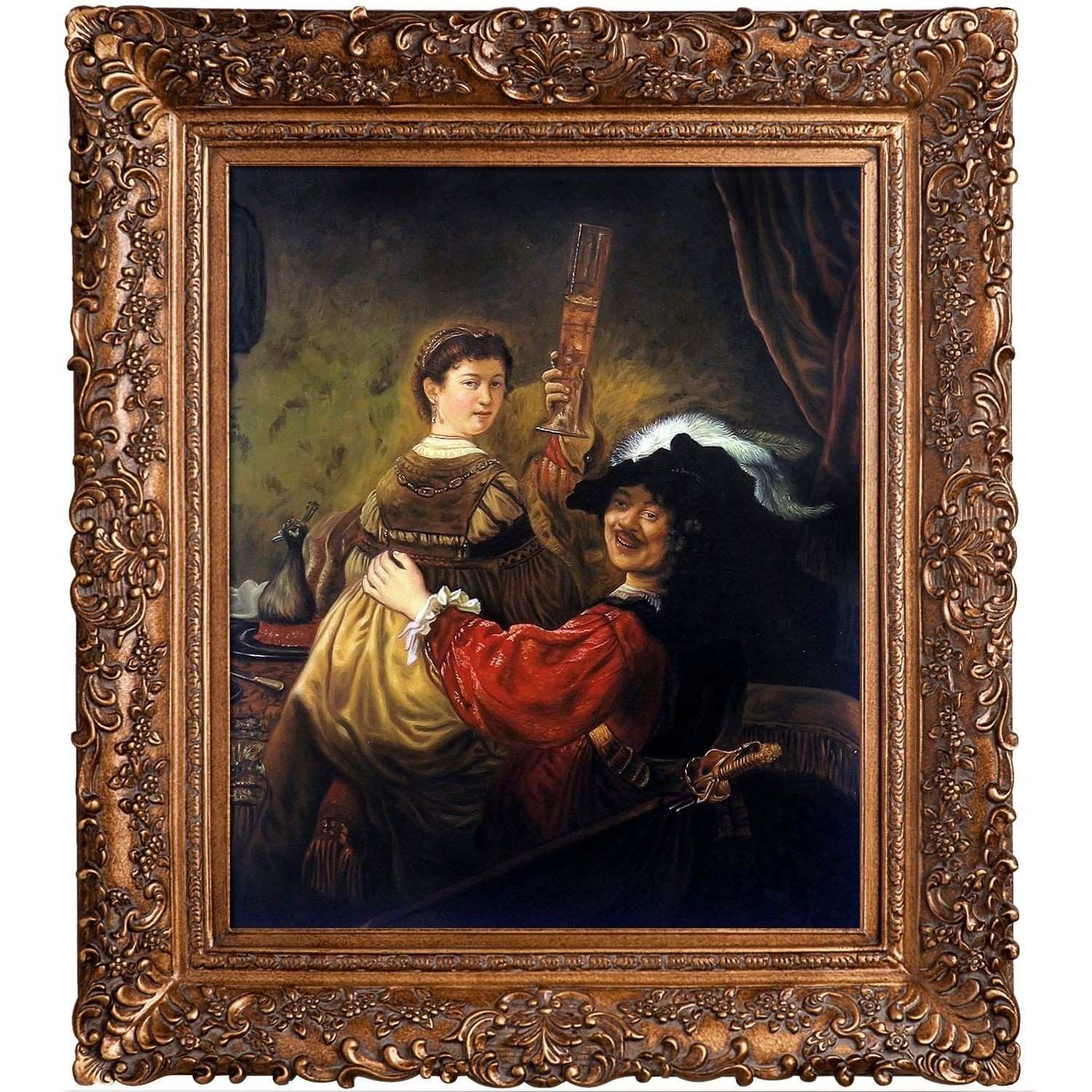 Rembrandt Harmenszoon Van Rijn Rembrandt and Saskia in the Parable
