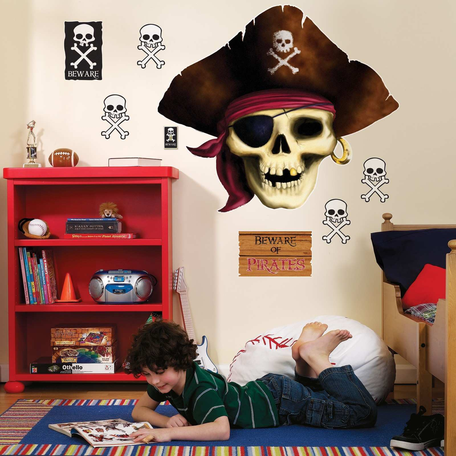 Designs Pirate Wall Stickers Not The High Street With Baby