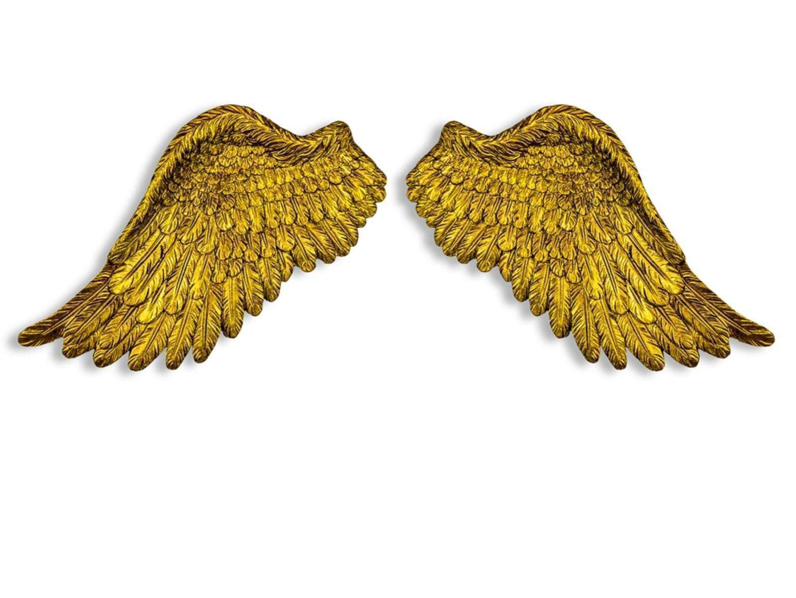 Angel Wings Wall Art Sculpture Plaque - Elitflat