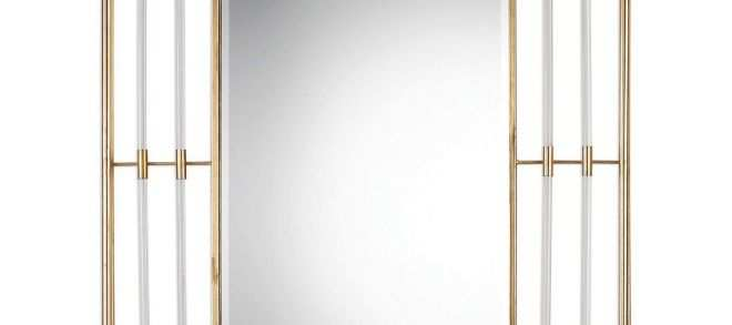 Gold Wall Mirror Unique Uttermost Bayo Gold Wall Mirror From Hayneedle