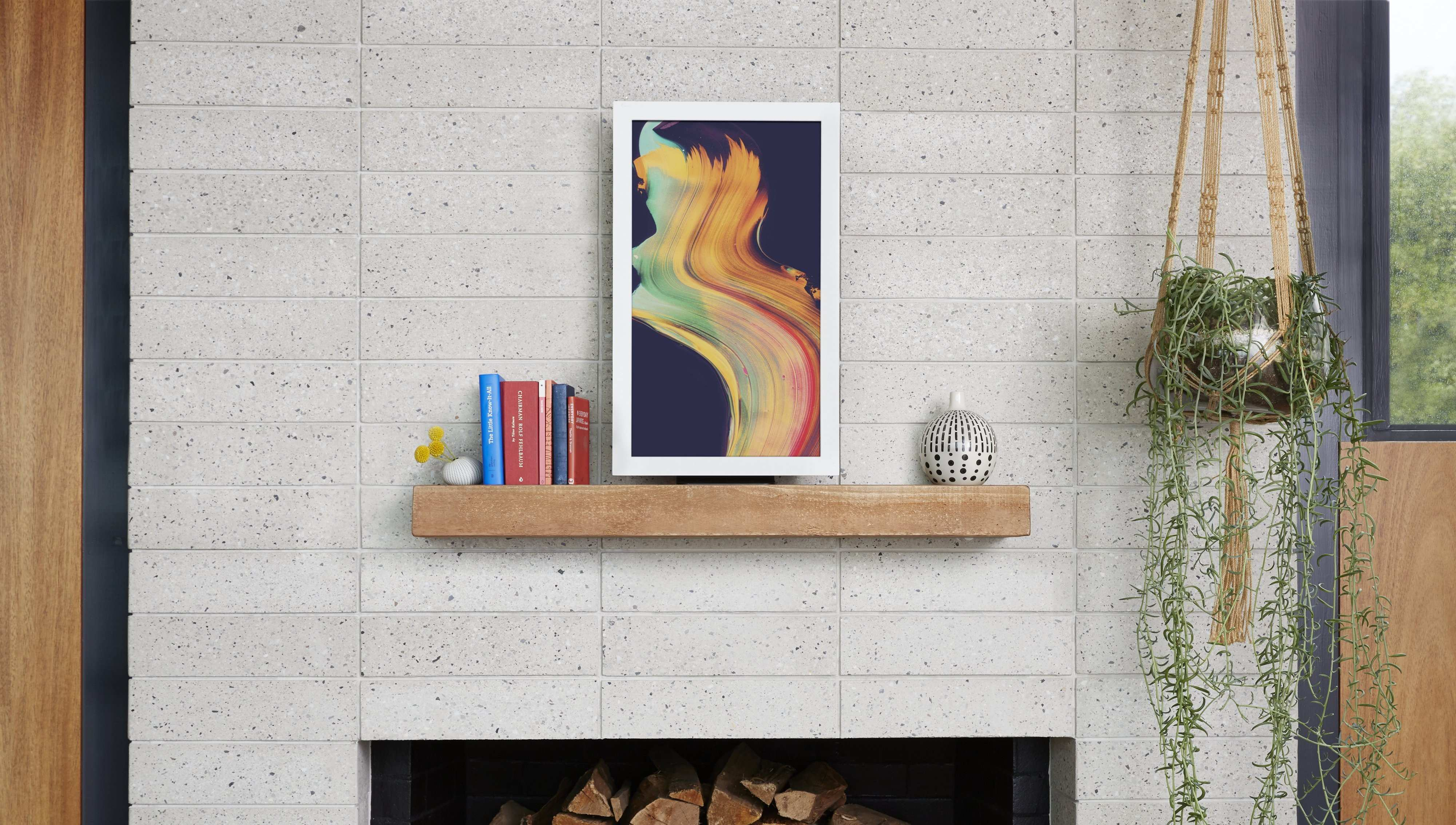 Hands With 3 Digital Picture Frames for the Home
