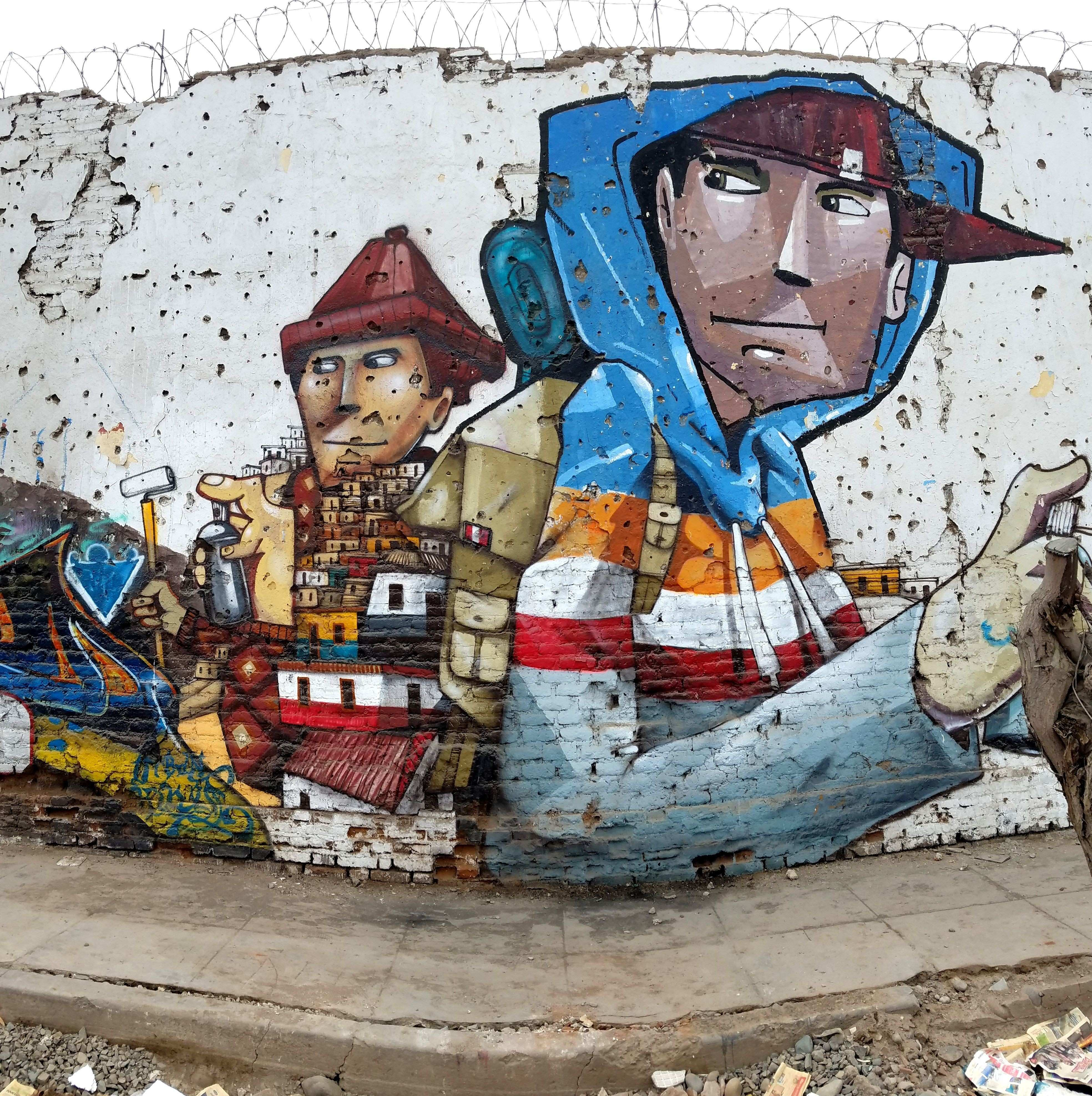 Rimac Lima Peru Street Art & Graffiti Honestly one would not