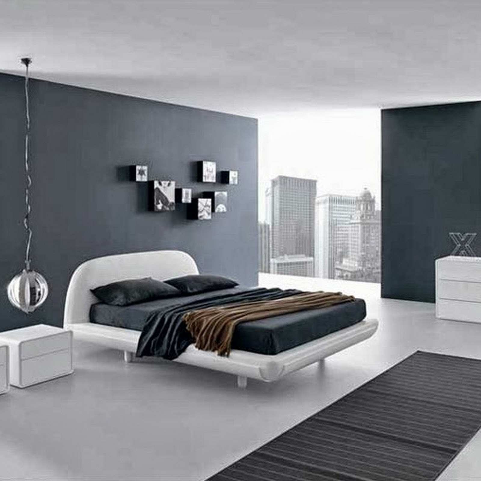 Amazing Grey Wall Decor Ideas 28 Bedroom Decorating Furniture Gray