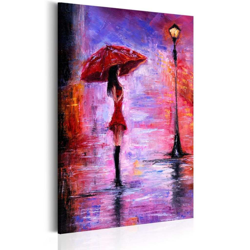 Hand Painted Canvas Art Beautiful Art Print Colours Of Loneliness Women People Canvas Prints