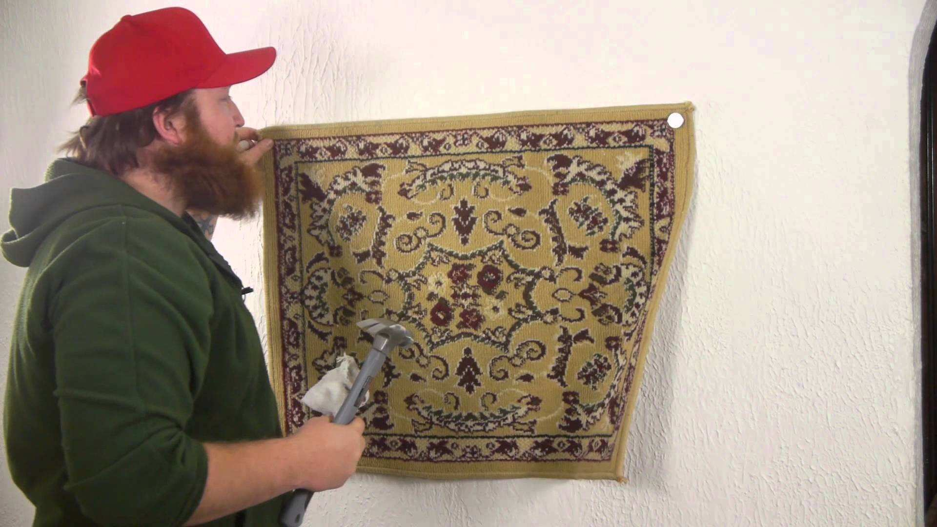 How to Attach Fabric to a Wall Nails Screws & Wall Hangings