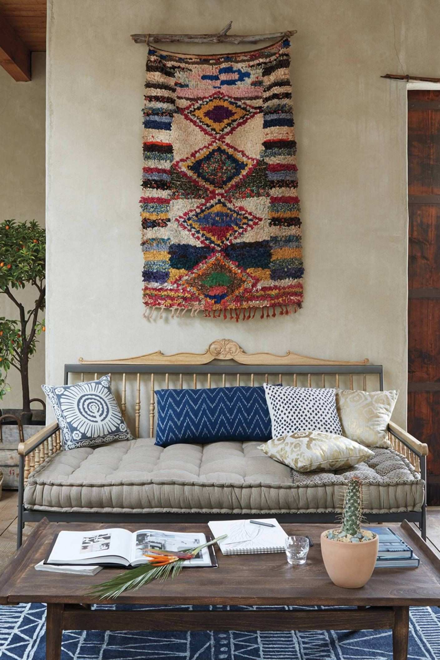 Anthropologie s New Arrivals Moroccan Boucharouette Wall Decor