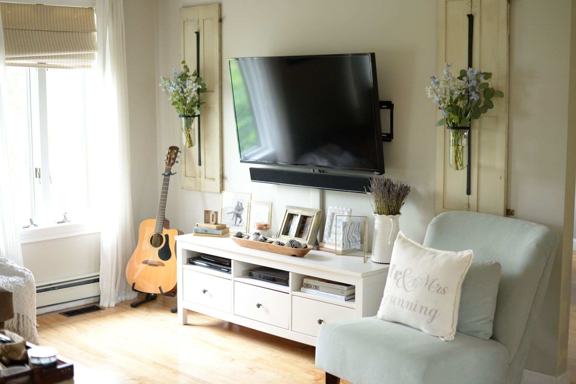 How to Decorate Around Your TV Like a Pro Pinterest