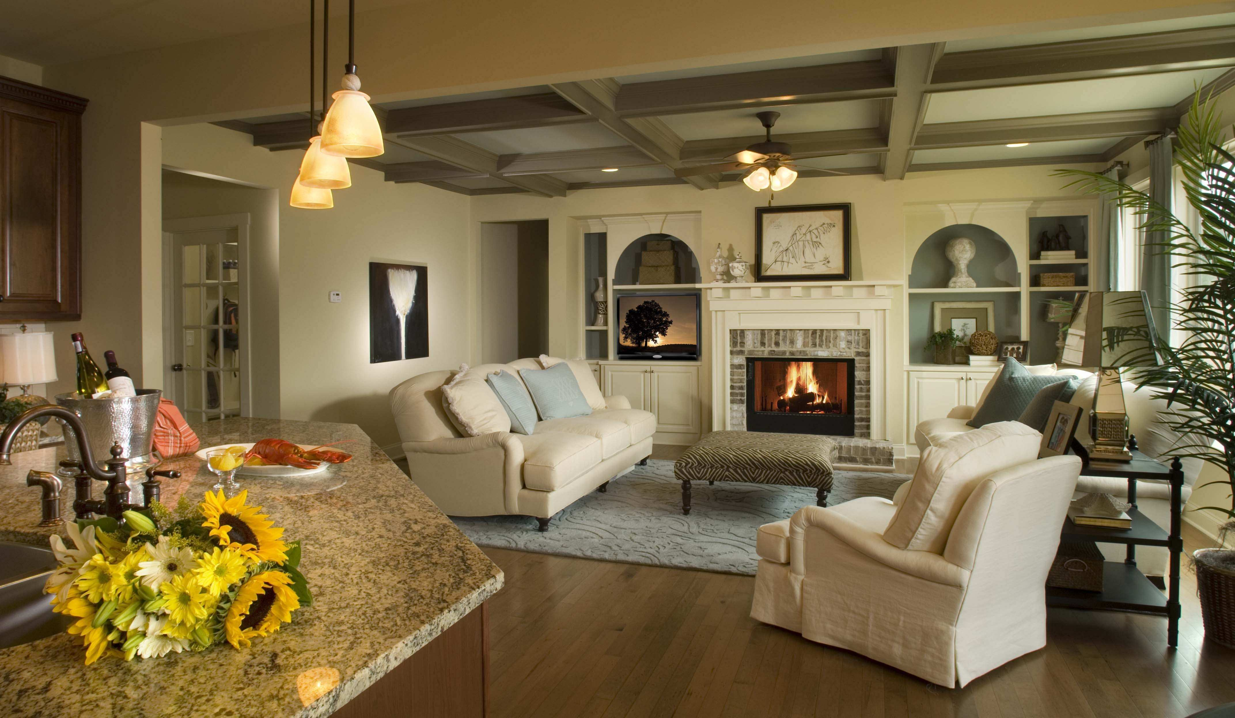 How To Decorate Tall Walls Good Size Living Roomliving