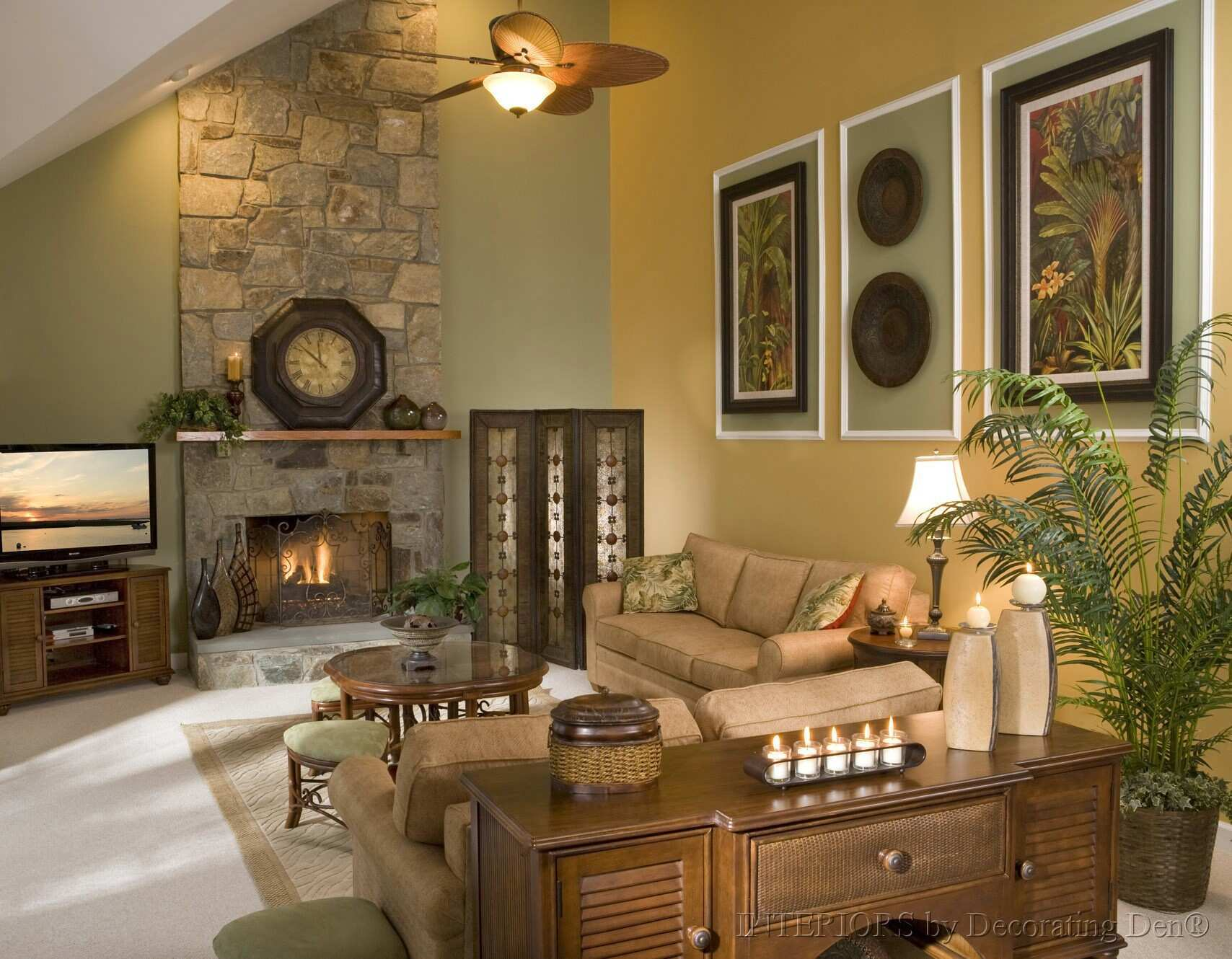 Decorating Rooms With Cathedral Ceilings thegreenstation