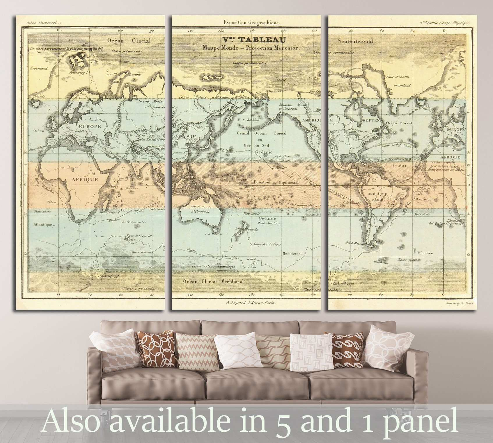 Dorable Atlas Wall Art Elaboration Art & Wall Decor hecatalogfo