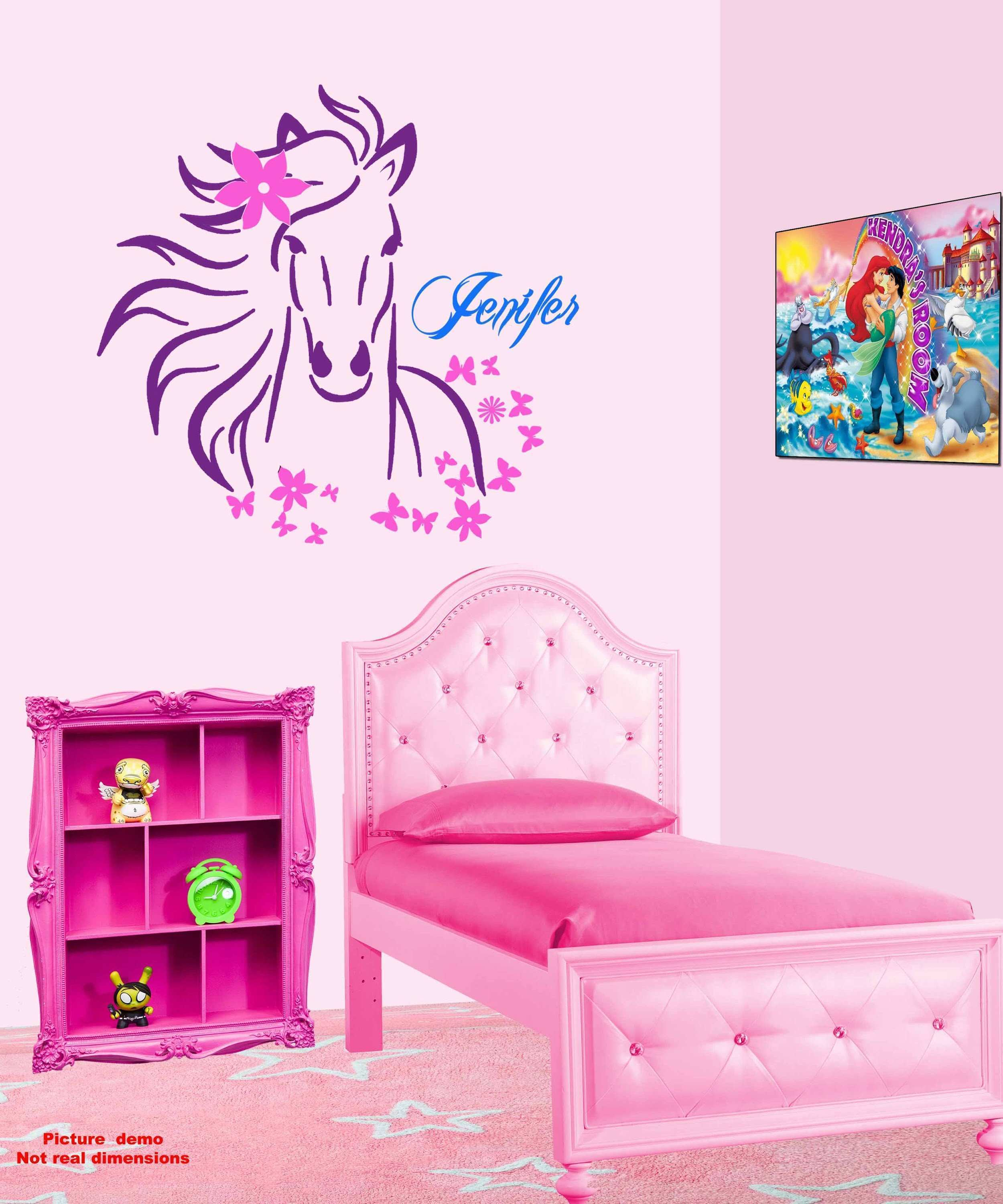 How to make a Custom Wall Art Horse Decal multicolor saving 150