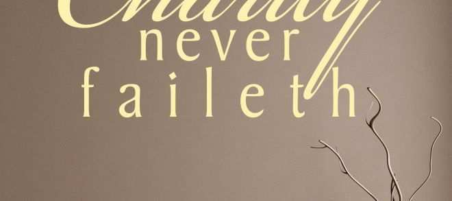 Horse Wall Decals Luxury Charity Never Faileth Religious Quote Wall Sticker World Of Wall