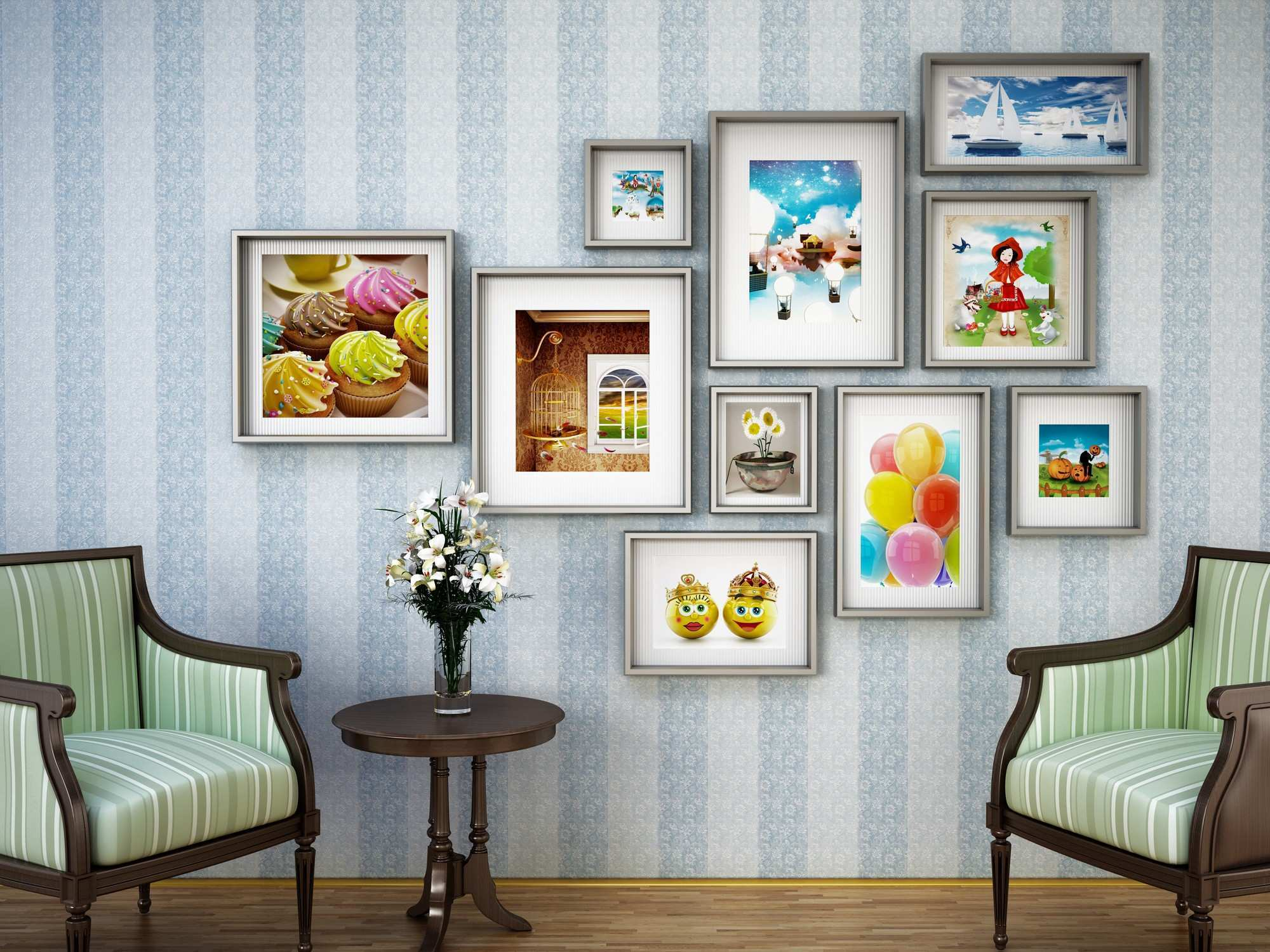 How to Arrange Pictures On Wall Different Sizes New Does Each Wall Need A Picture Hanging On It