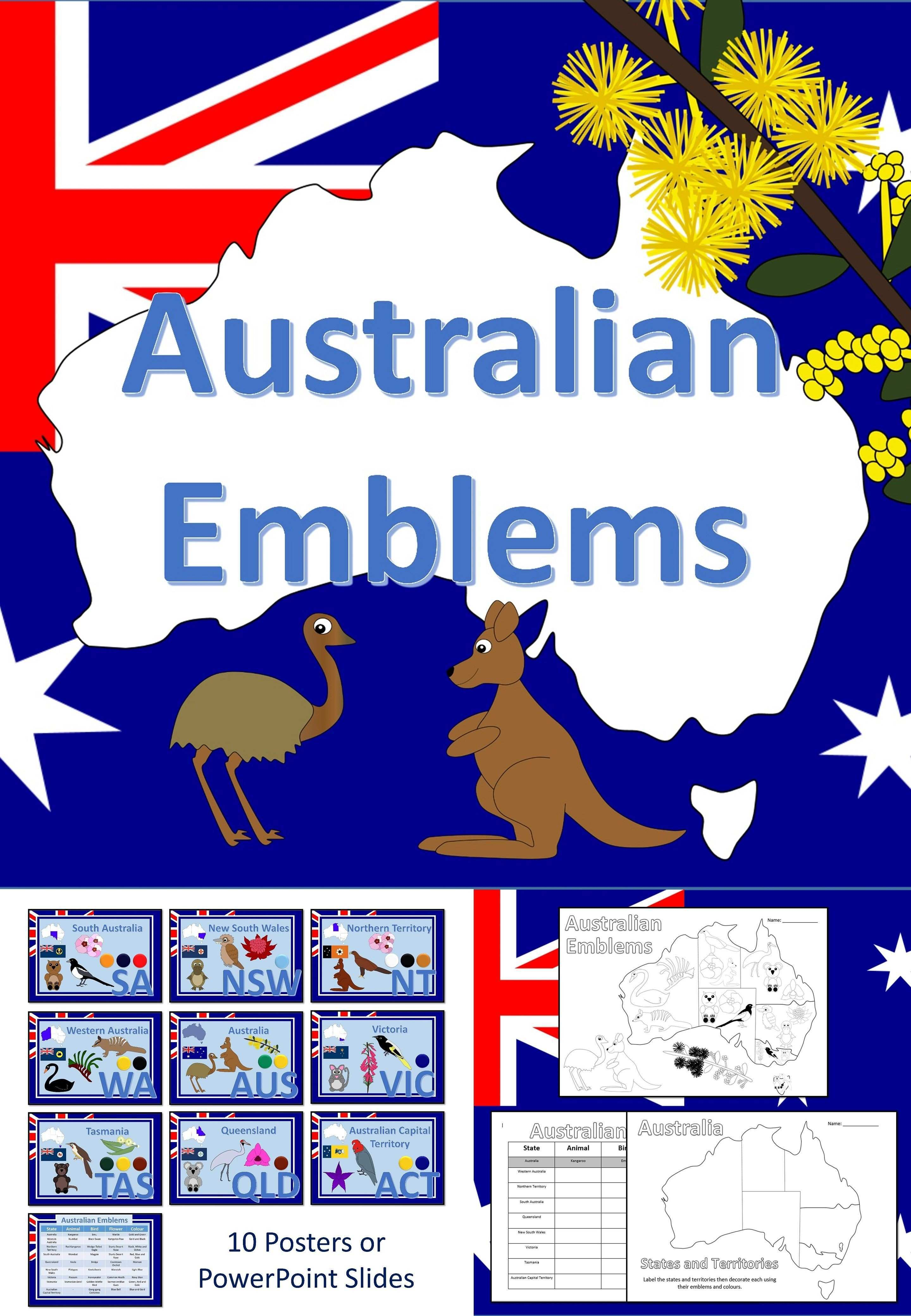 how to create a poster in powerpoint best of australian emblems