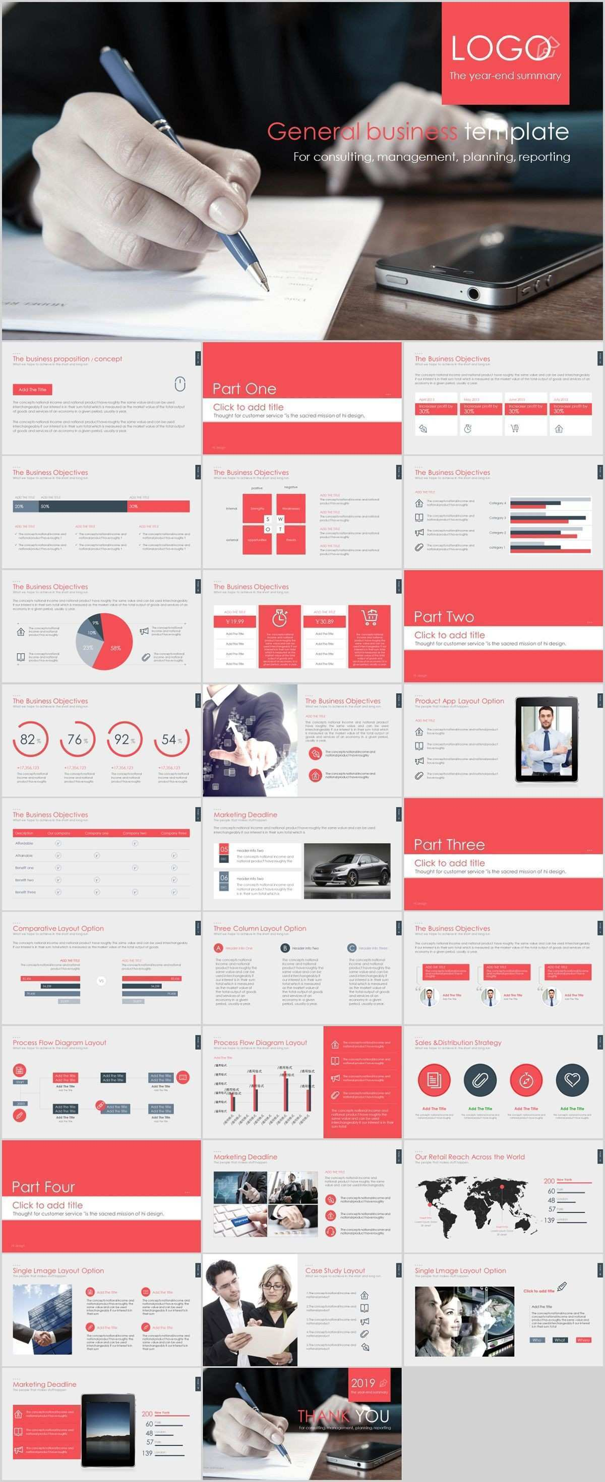 How To Create A Poster In Powerpoint Lovely 30 Red Pany Report
