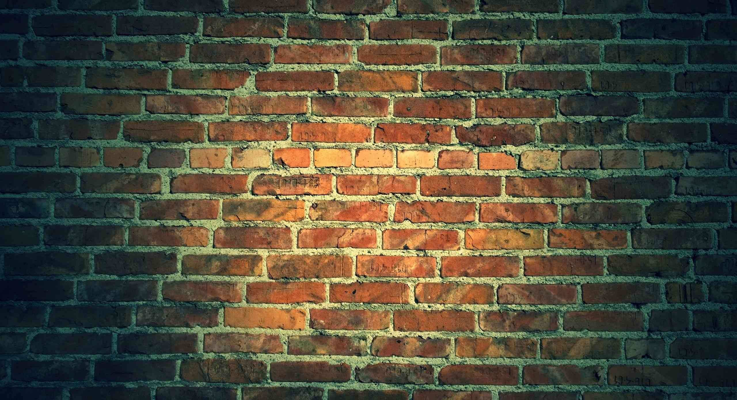 An Exposed Brick Wall is Trendy and A Feature Rustic Style for