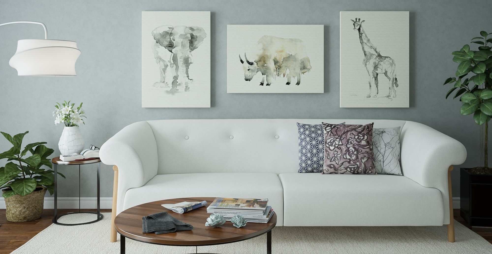 How to Hang Your Wall Art