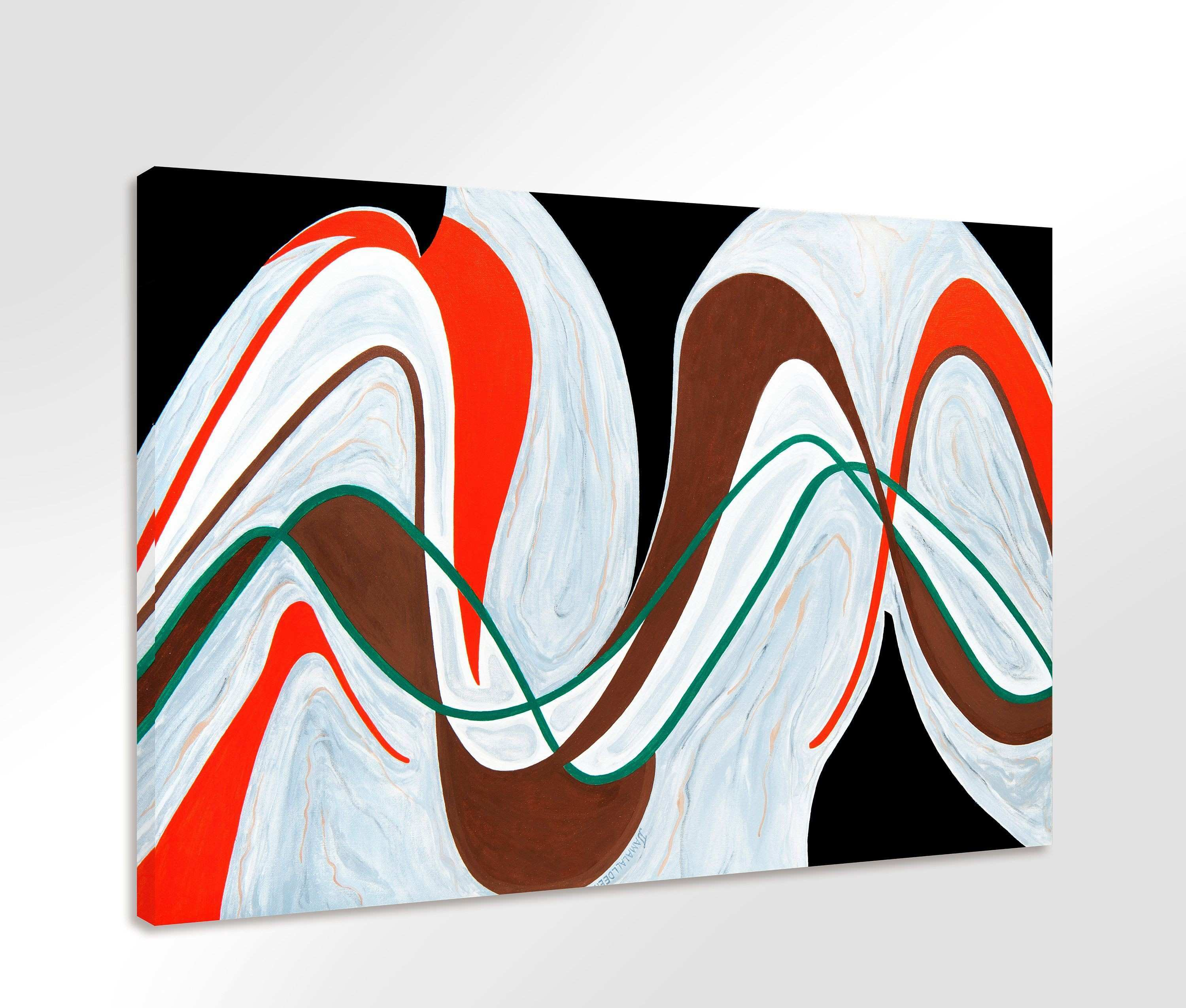 LARGE Abstract Painting Print My Original Paintings are available