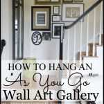 How To Hang Pictures On A Wall Inspirational How To Hang An Quotas You Goquot Wall Art Gallery Stonegable Of How To Hang Pictures On A Wall