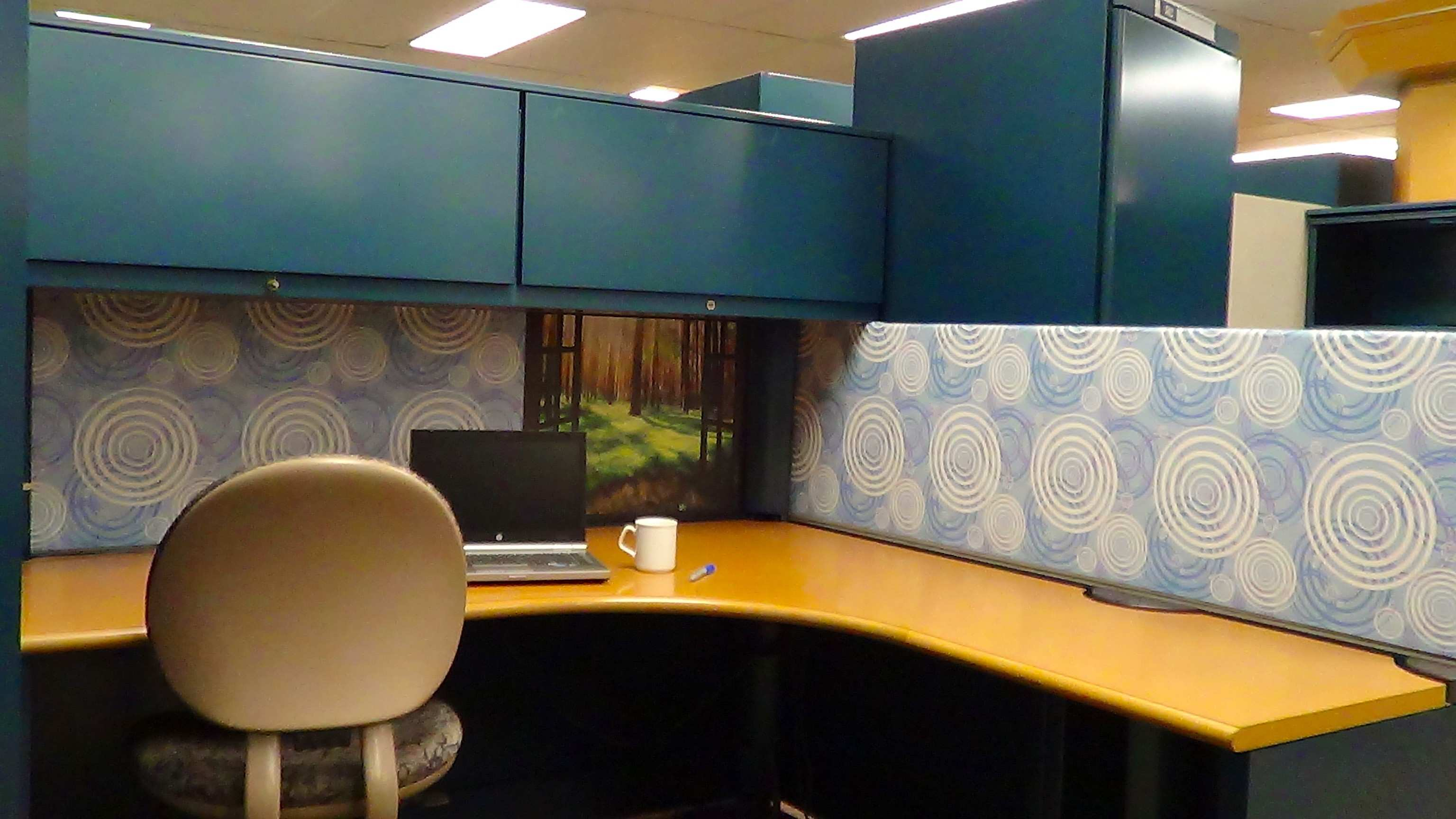 Nice How To Decorate Cubicle Walls Vignette Wall Painting Ideas