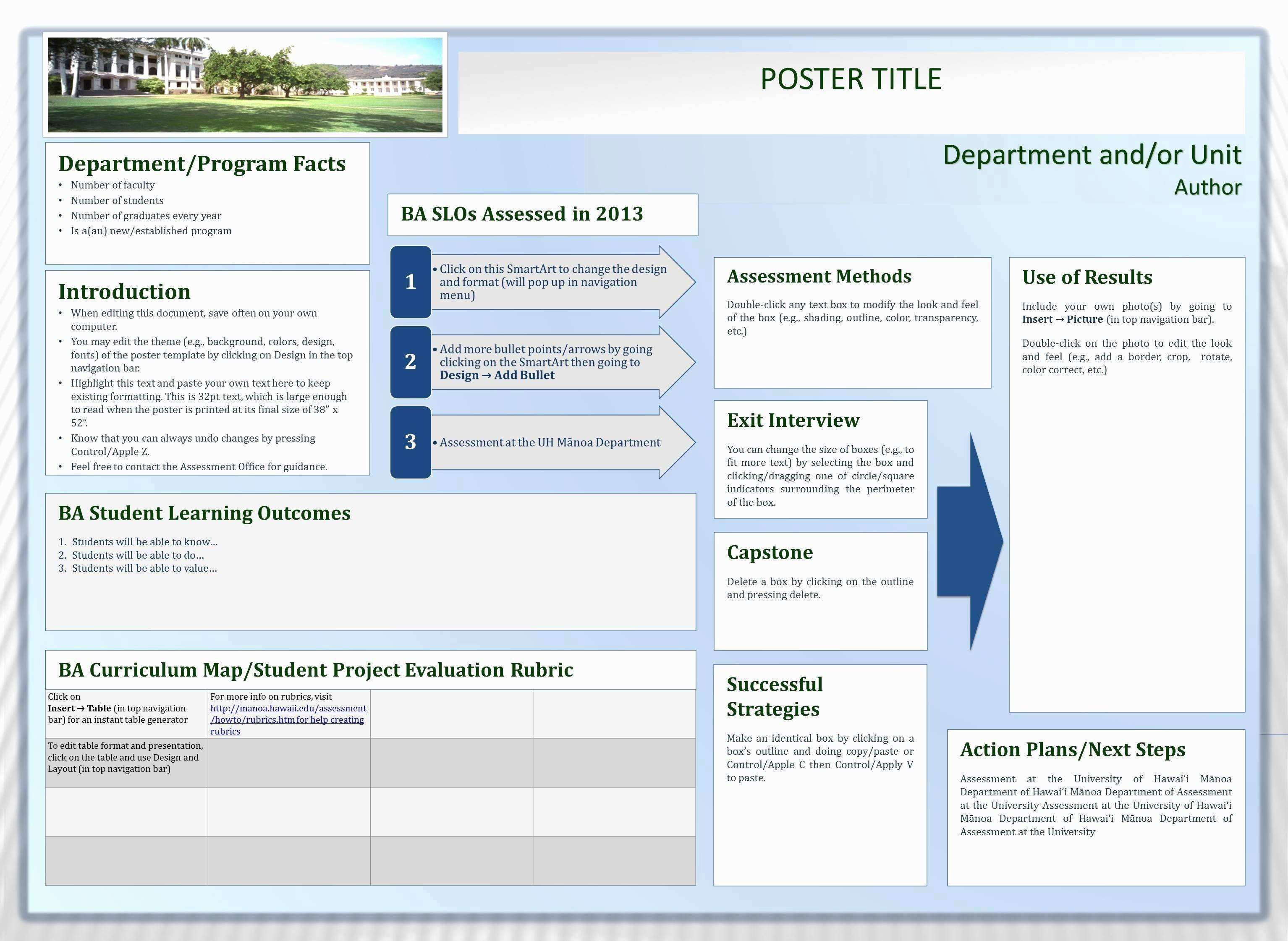 √ 30 Elegant Collection Powerpoint Poster Templates 48x36 Pro