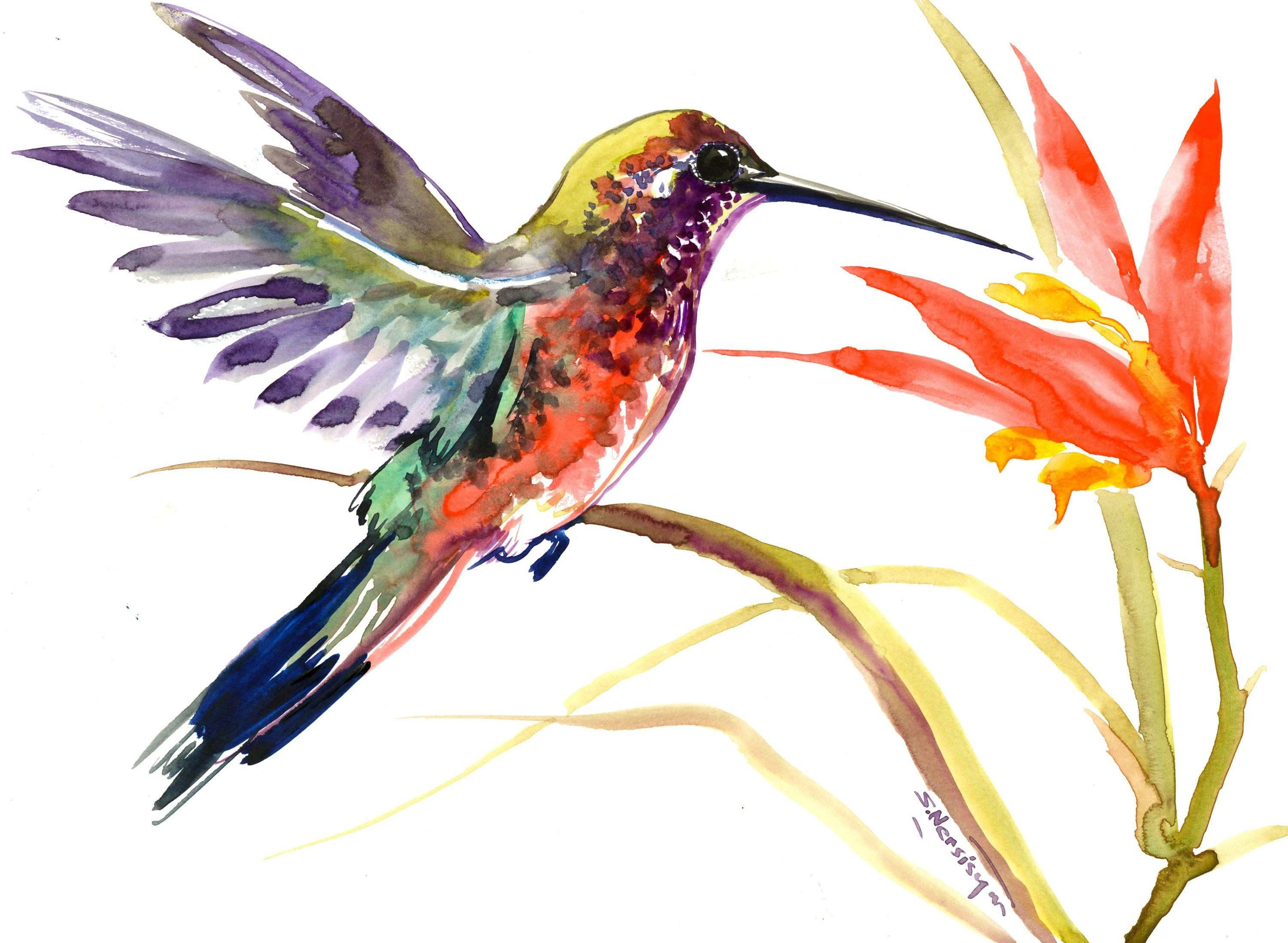 31 Inspirational Hummingbird Wall Decor