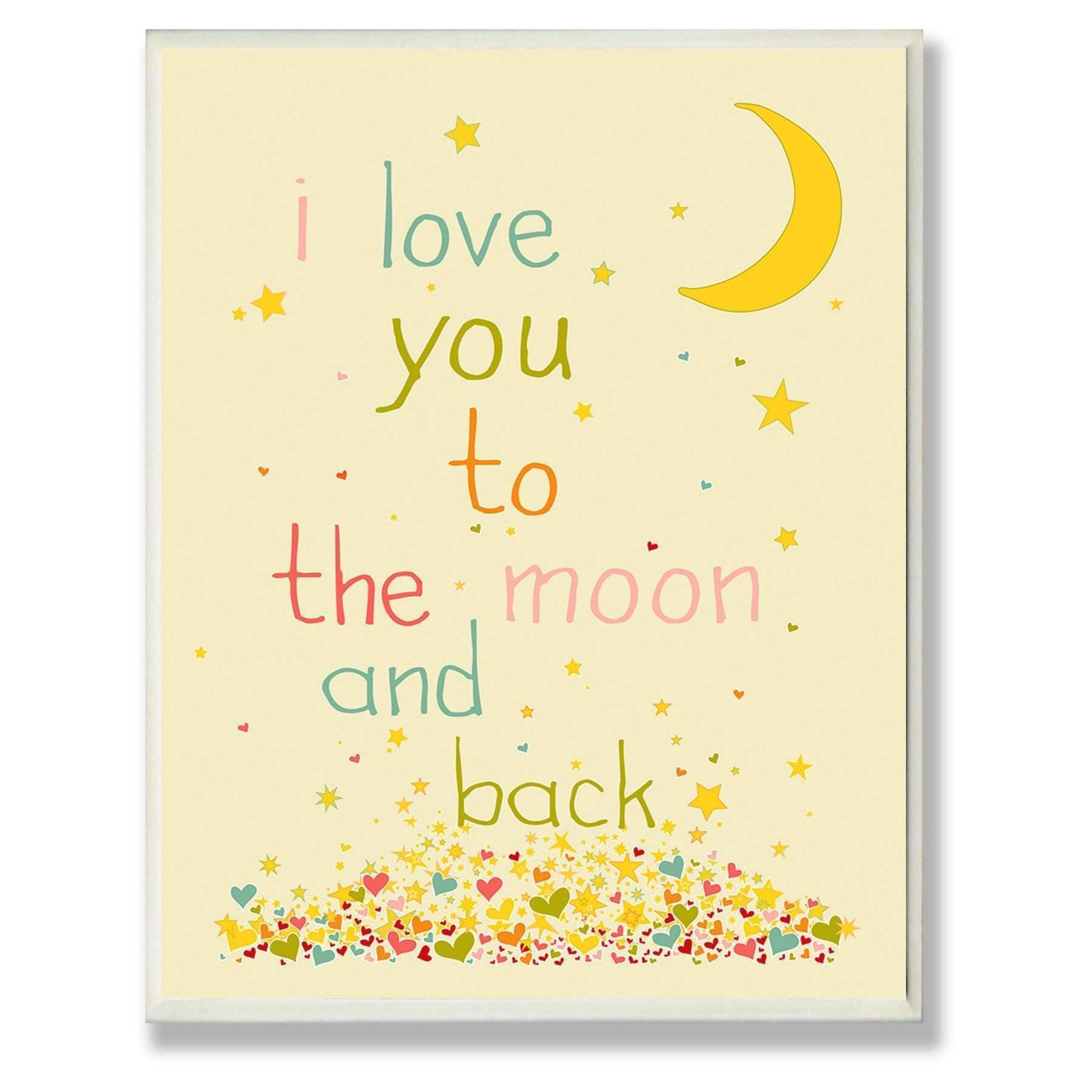 Unique I Love You To The Moon And Back Wall Decor The Wall