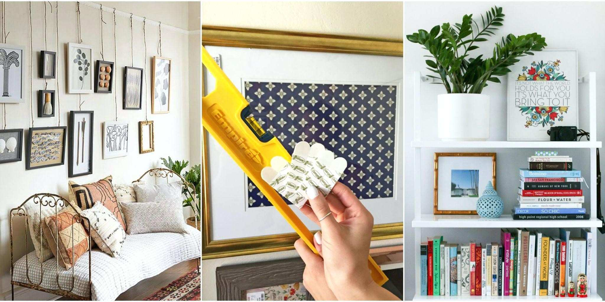 Ways To Hang Ways To Hang Without Frames