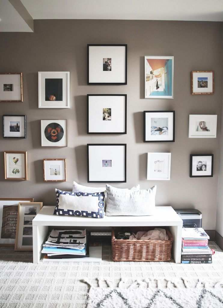 Ideas For Hanging Pictures On Wall Without Frames Unique Step By