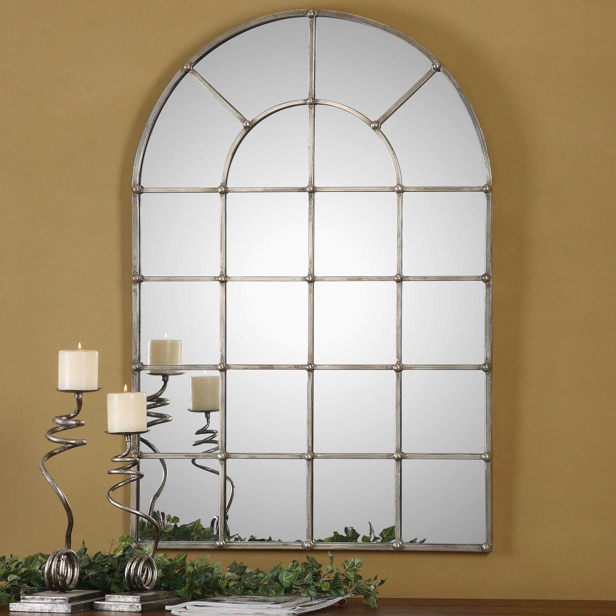 Furniture Jcpenney Mirrors Awesome Uttermost Barwell Arch Window
